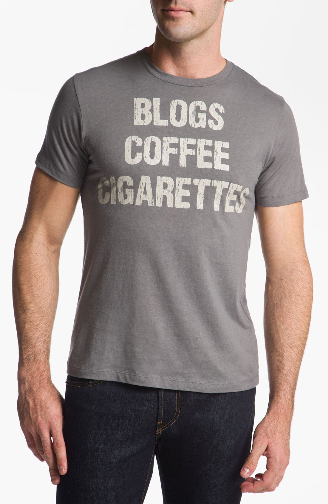 Alternate Image 1 Selected - Topless 'Blogs' T-Shirt