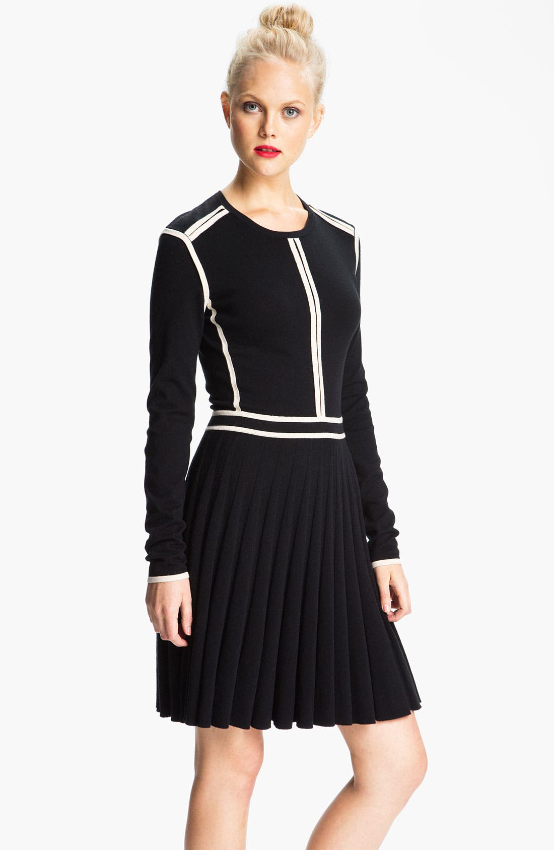 Alternate Image 1 Selected - MARC BY MARC JACOBS 'Slalom' Sweater Dress
