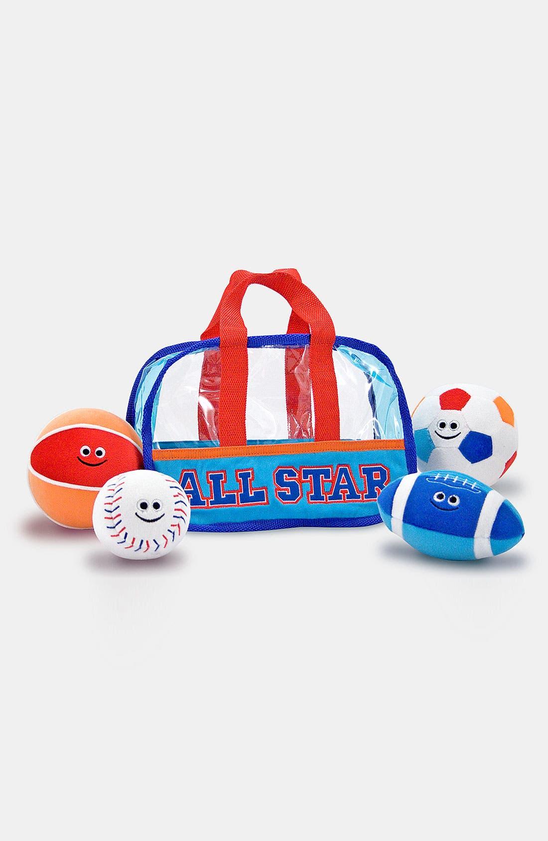 Alternate Image 1 Selected - Melissa & Doug 'Fill & Spill' Sports Bag (Baby & Toddler)