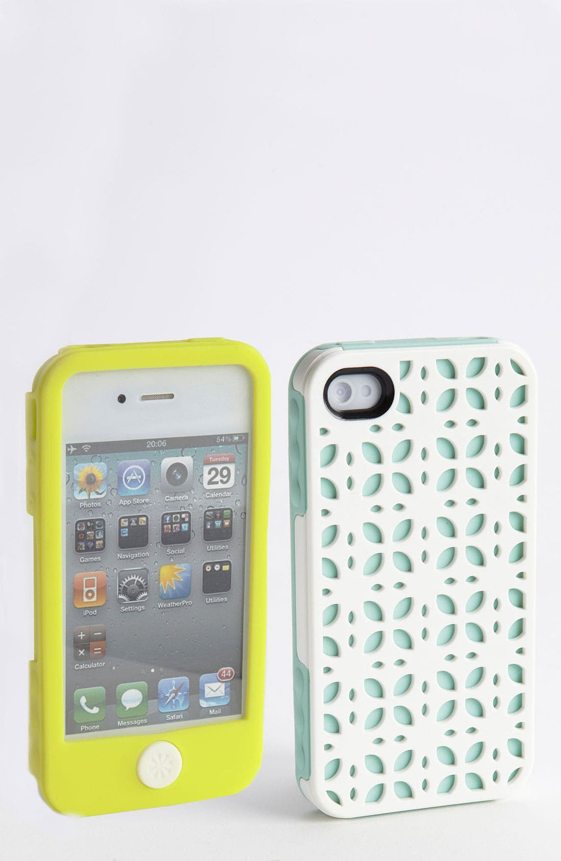 Alternate Image 1 Selected - Tech Candy 'New York' iPhone 4 & 4S Silicone Case