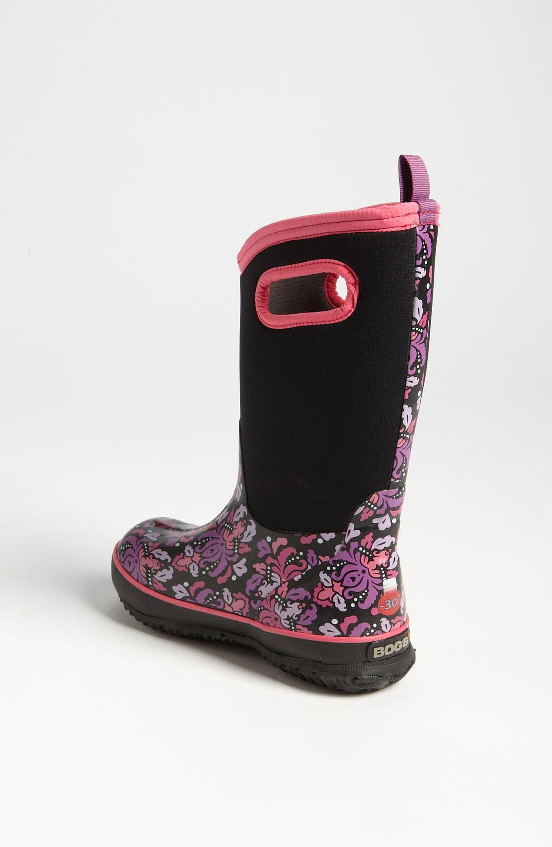 Alternate Image 2  - Bogs 'Classic High - Fleur' Waterproof Boot (Toddler, Little Kid & Big Kid) (Nordstrom Exclusive)