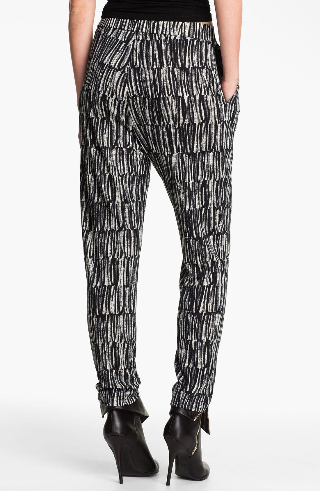 Alternate Image 2  - Cut25 Print Jersey Pants