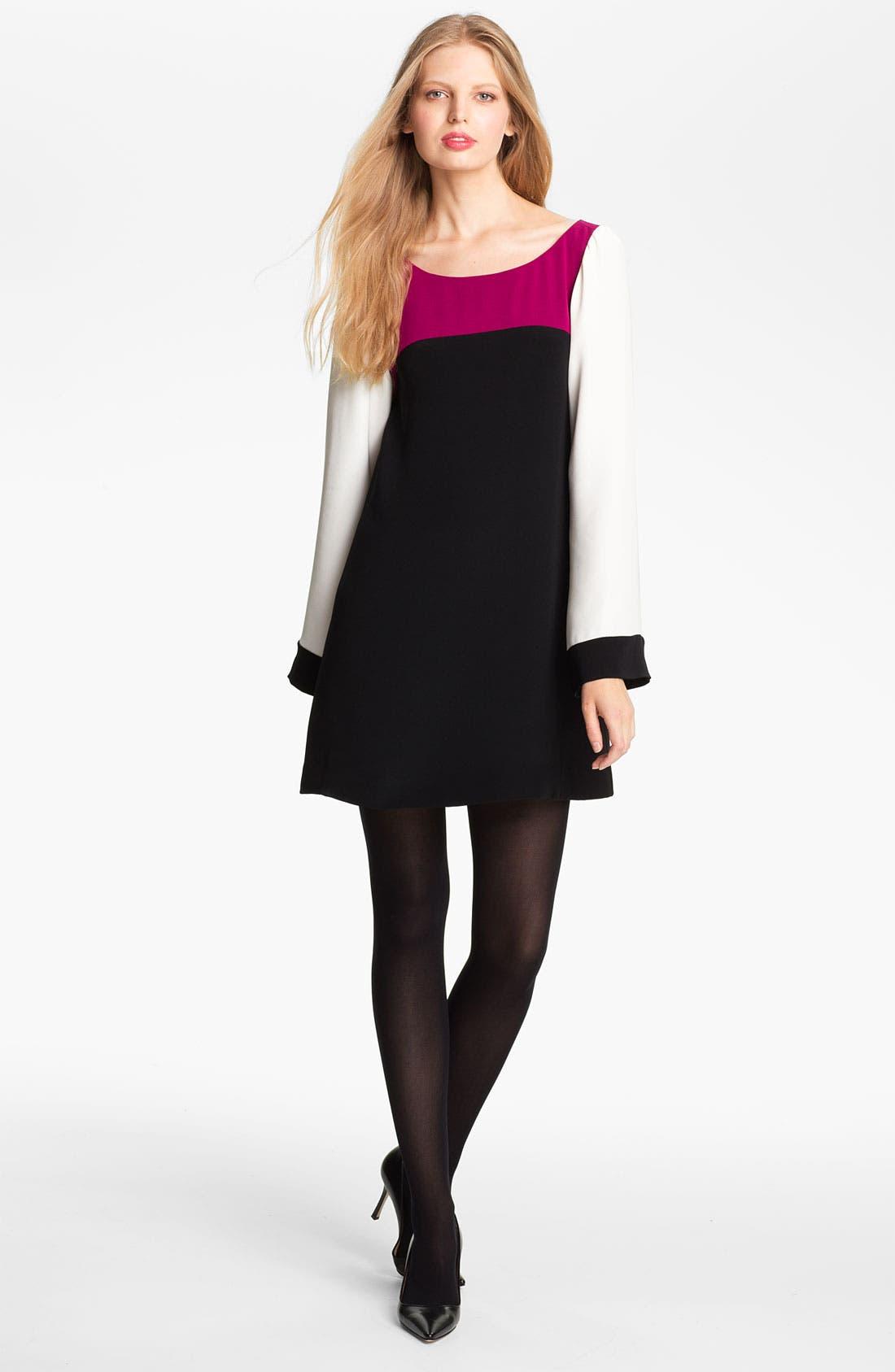 Main Image - Elizabeth and James 'Sabrina' Colorblock Dress