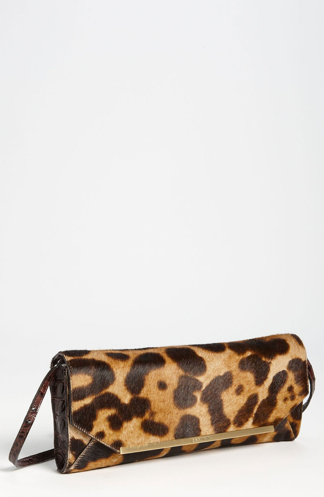Main Image - Brahmin 'Alexis' Calf Hair Clutch