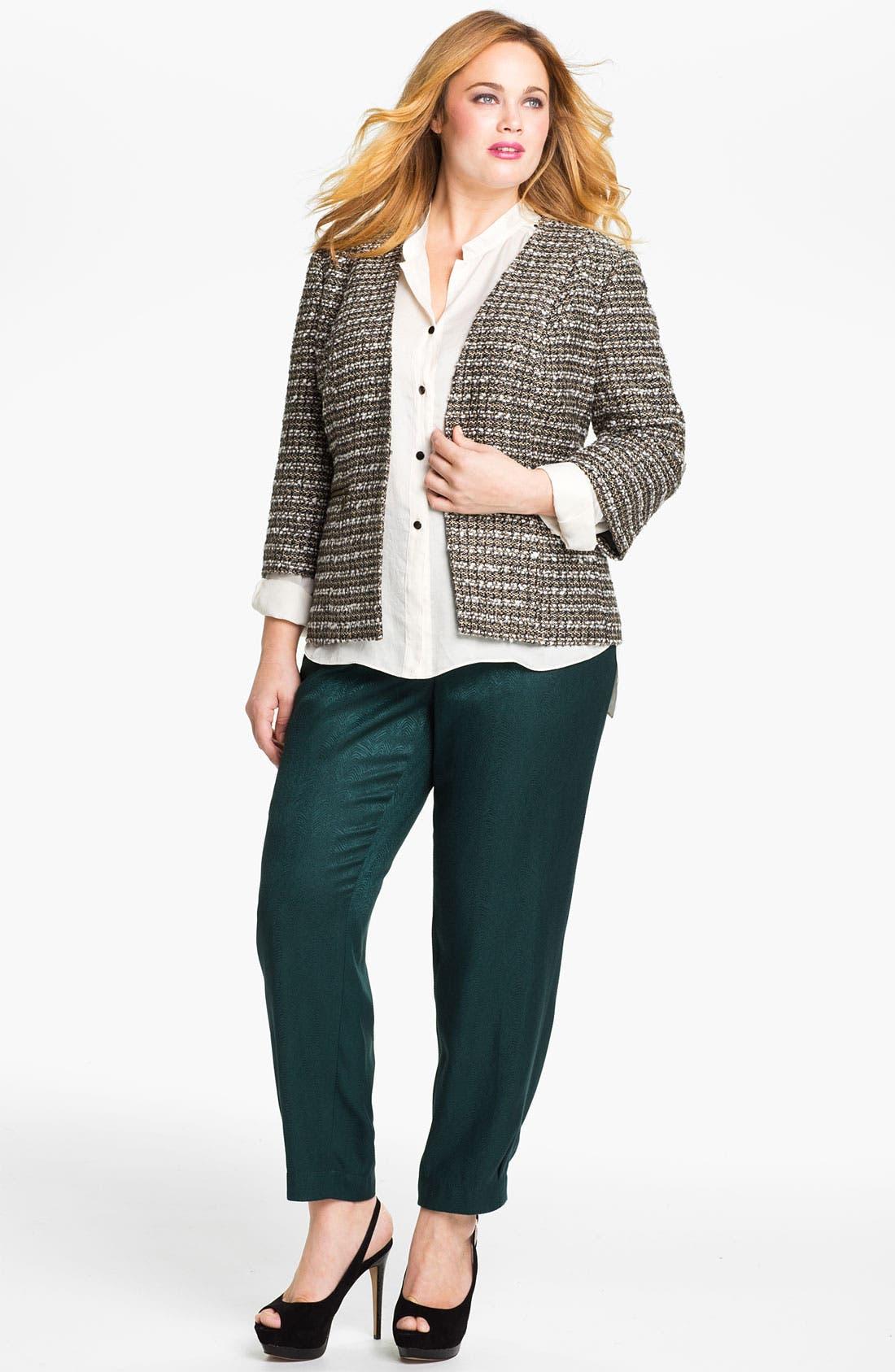 Alternate Image 4  - Sejour Tweed Jacket (Plus)