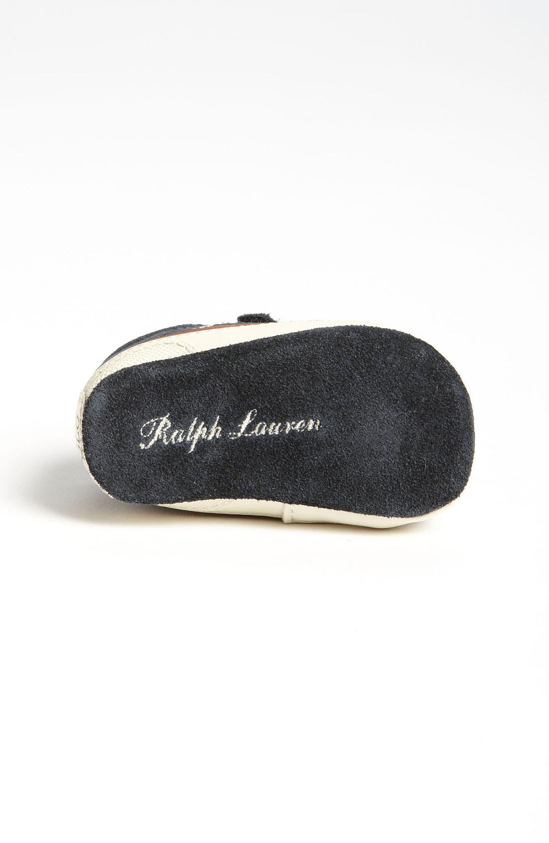 Alternate Image 4  - Ralph Lauren Layette Crib Shoe (Baby)