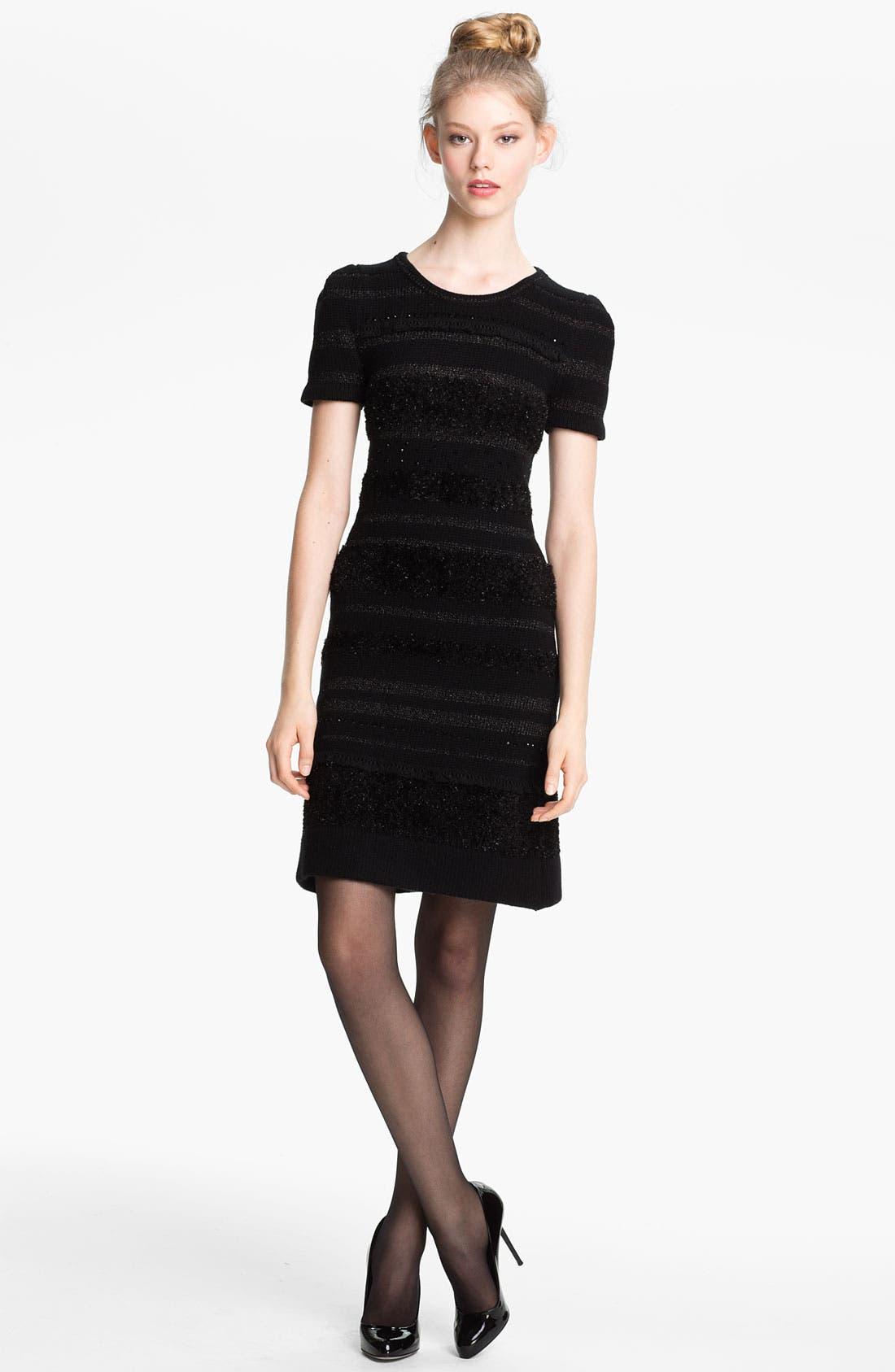 Alternate Image 1 Selected - Mcginn 'Alicia' Bead & Fringe Embellished Sweater Dress