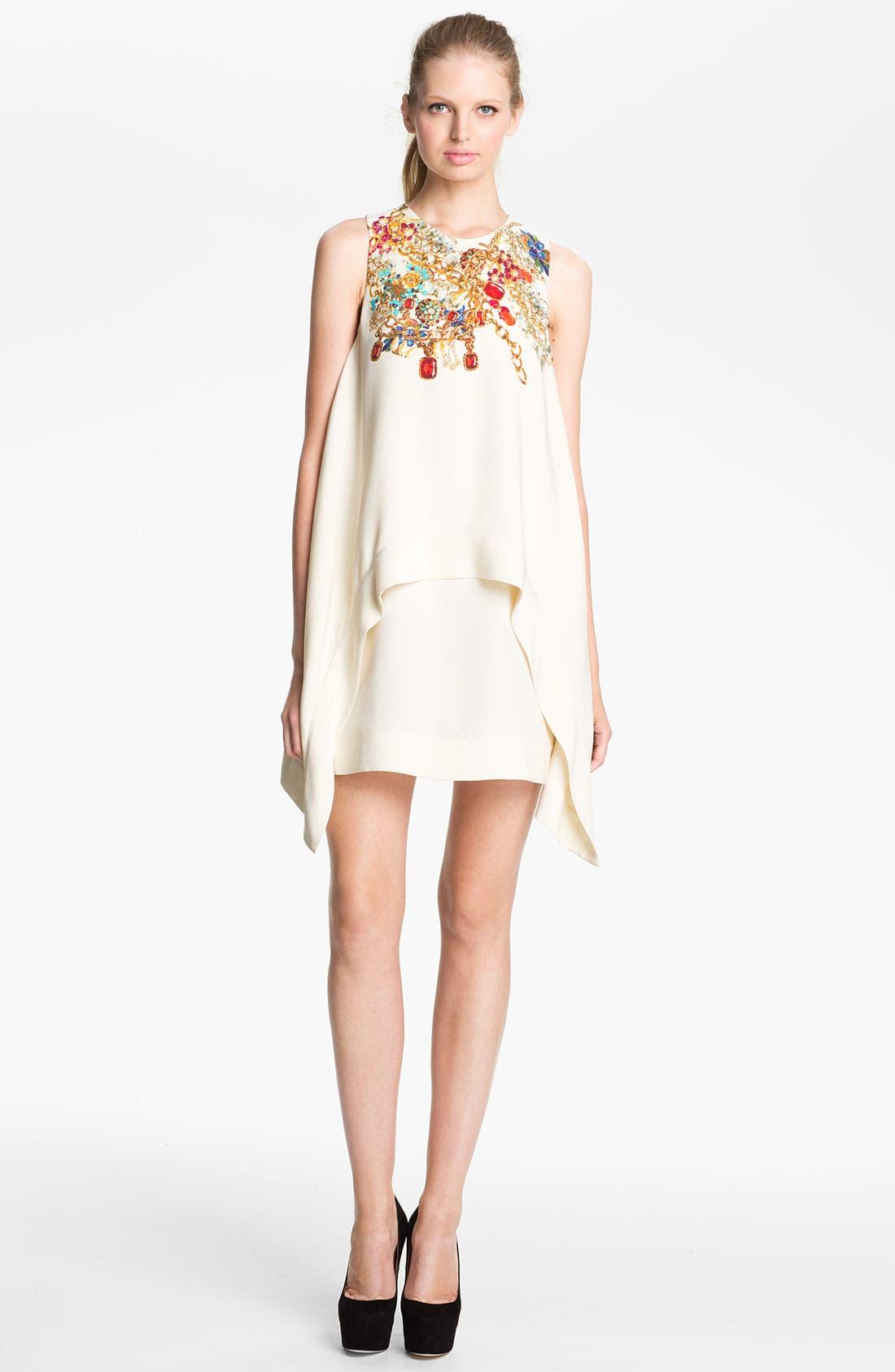 Main Image - camilla and marc 'Adorned' Jewel Print Draped Dress