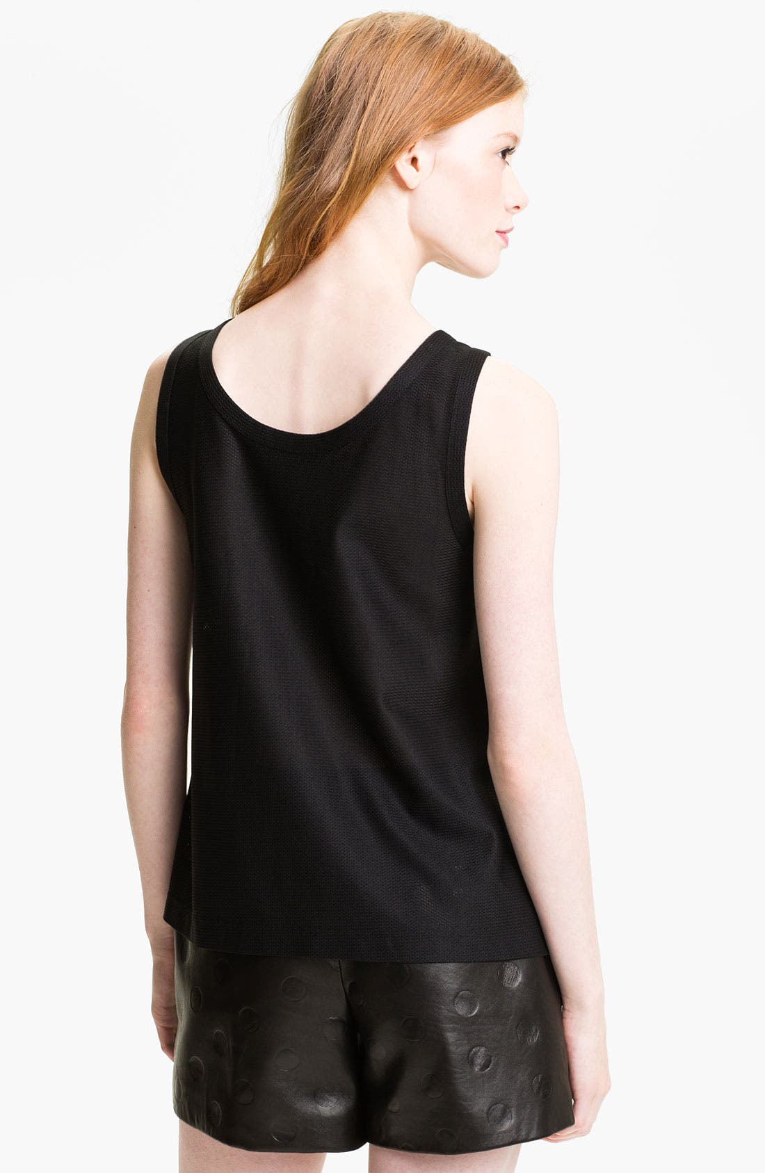 Alternate Image 2  - MARC BY MARC JACOBS 'Elena' Satin Crepe & Mesh Tank