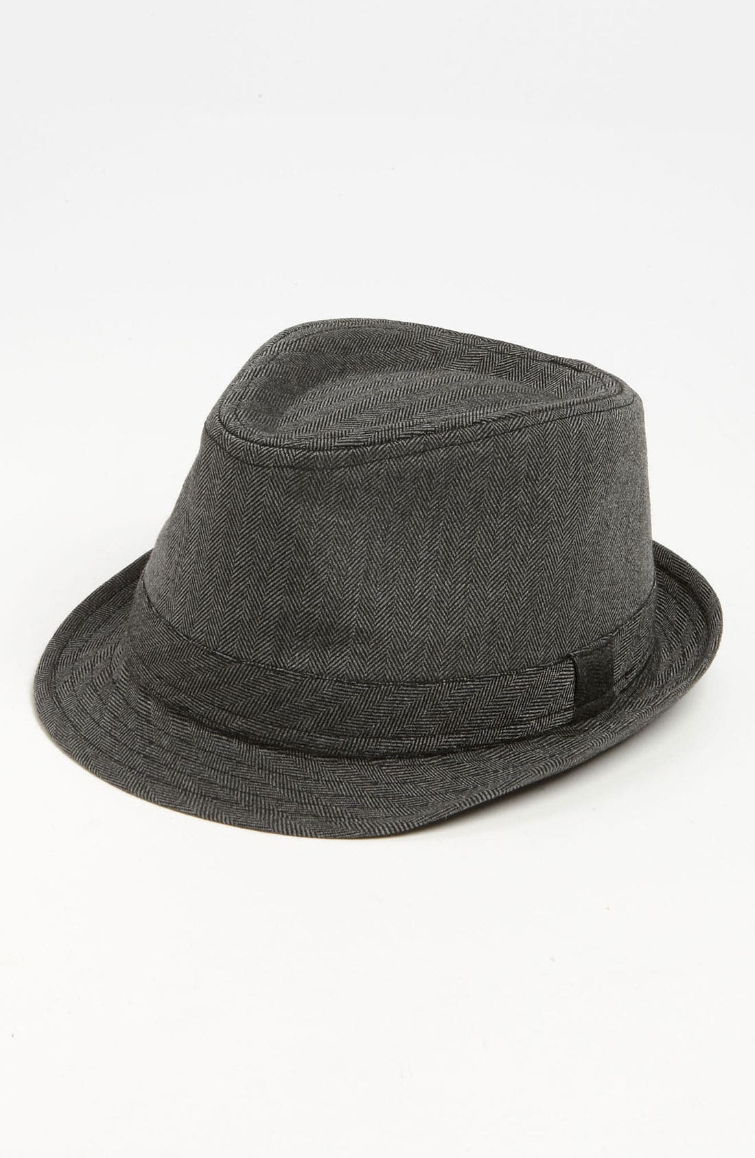 Main Image - Free Authority Herringbone Fedora