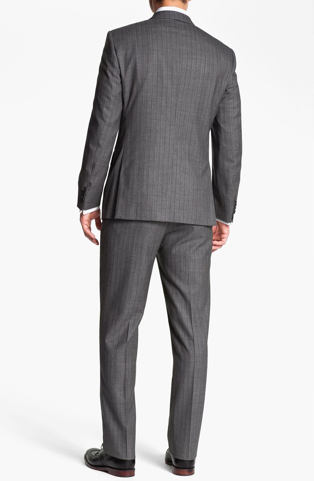 Alternate Image 3  - Pal Zileri Trim Fit Wool Suit