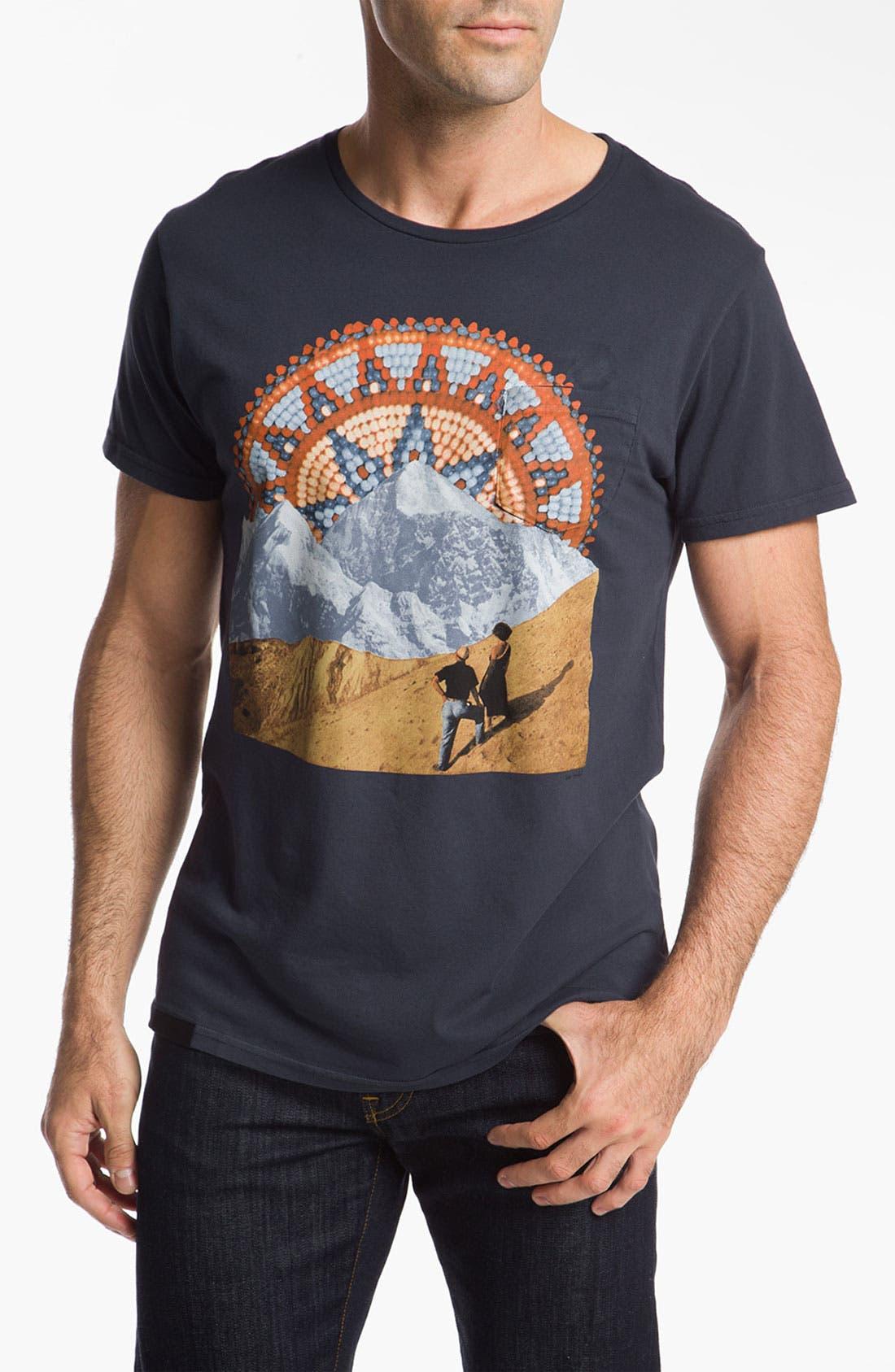 Alternate Image 1 Selected - Comune 'Hoekel' Graphic T-Shirt