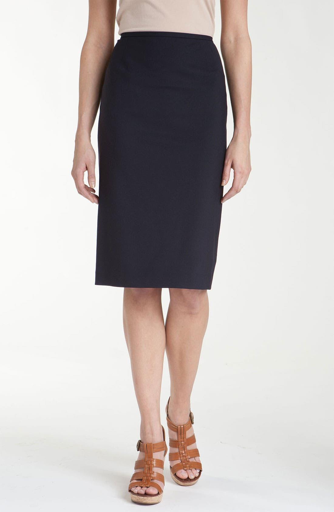 Alternate Image 1 Selected - Lafayette 148 New York Coat, Turtleneck & Skirt