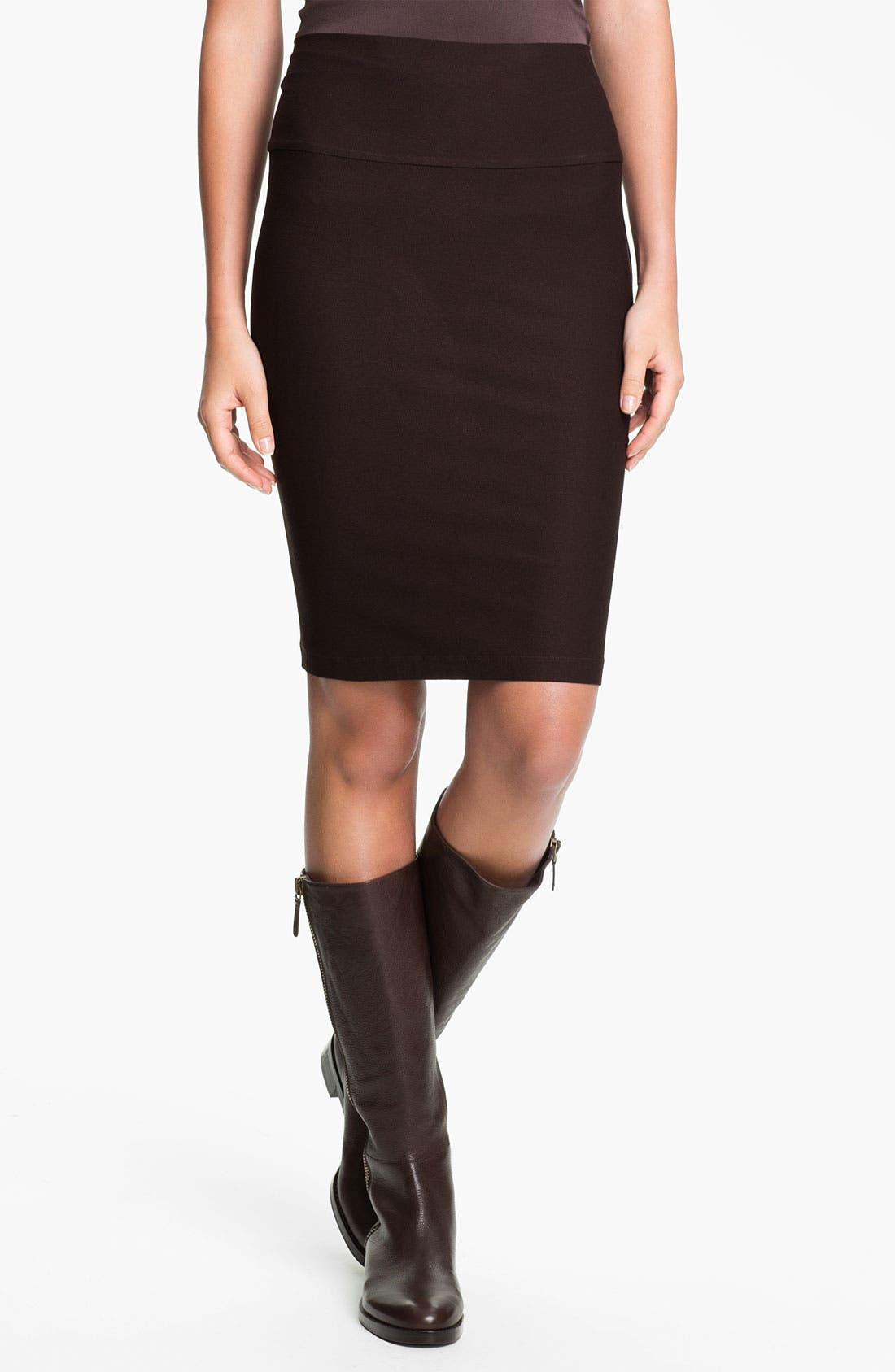 Alternate Image 1 Selected - Eileen Fisher Knit Pencil Skirt