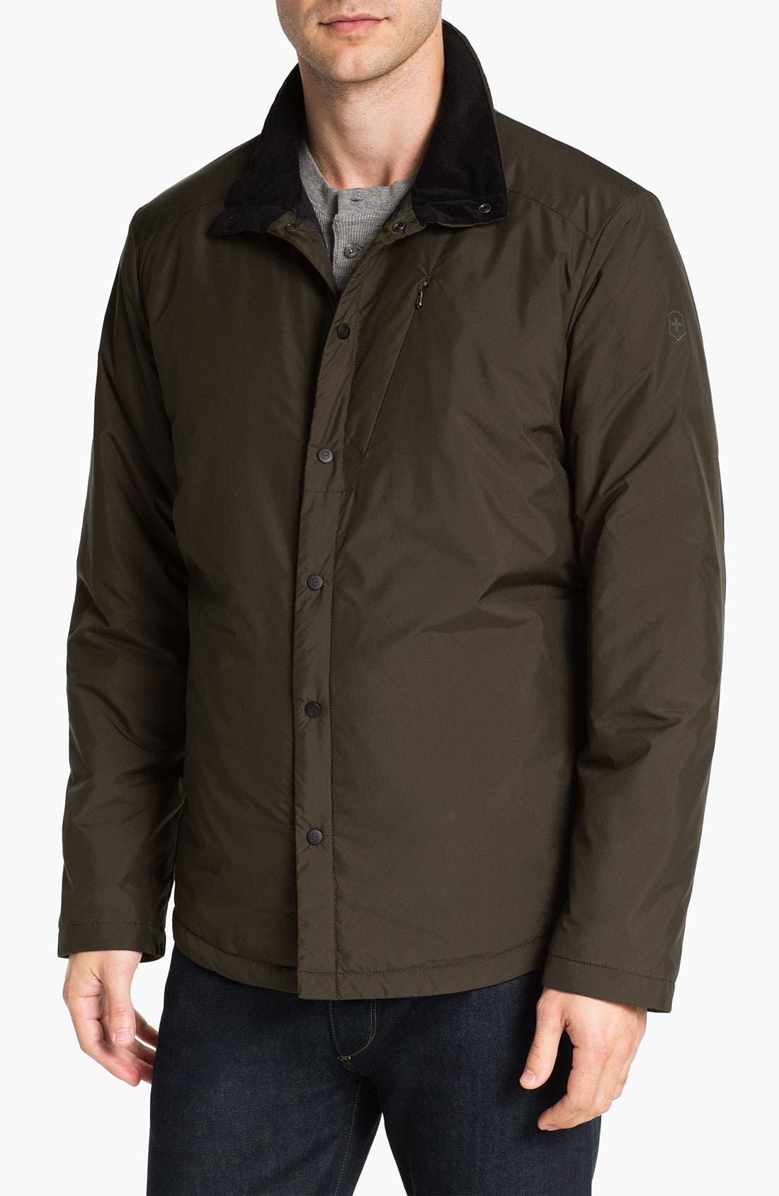 Alternate Image 1 Selected - Victorinox Swiss Army® 'Bernin' Insulated Jacket (Online Only)