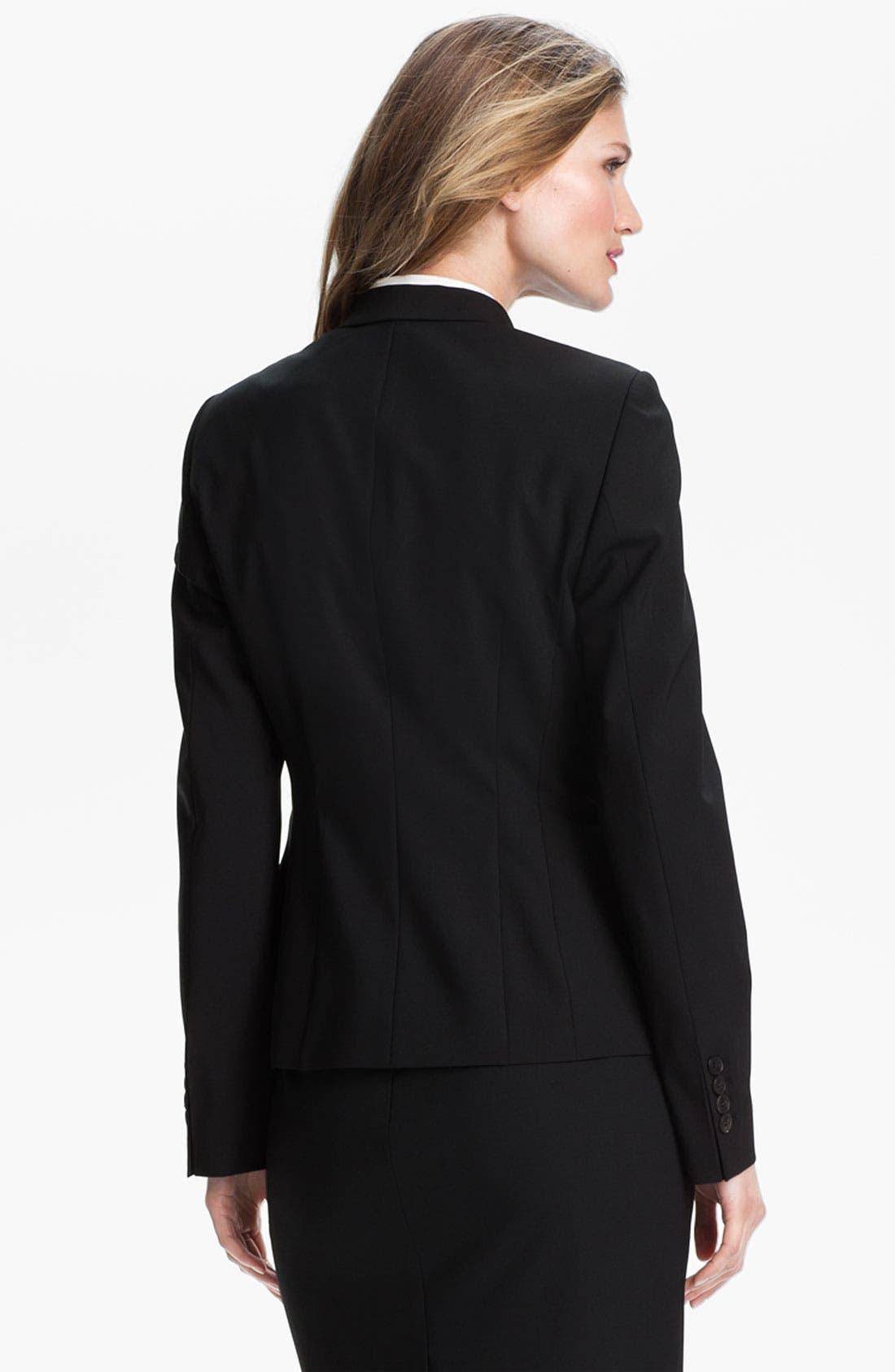 Alternate Image 2  - BOSS Stretch Wool Jacket