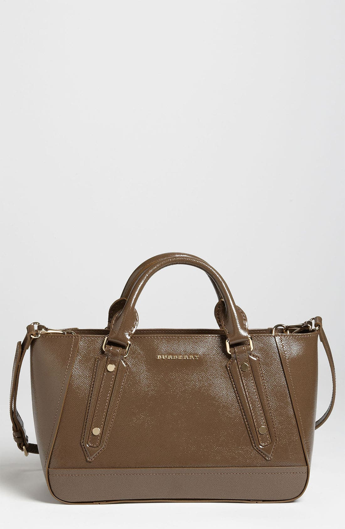 Alternate Image 1 Selected - Burberry 'Ladies London' Leather Tote
