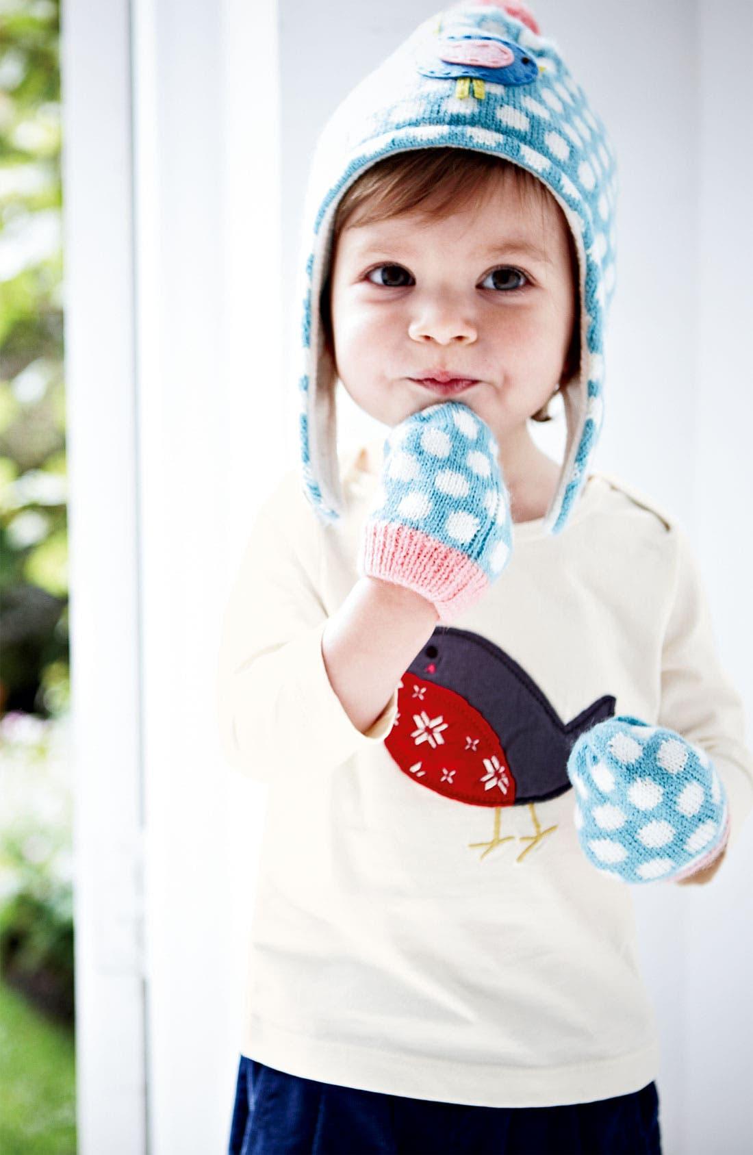 Alternate Image 2  - Mini Boden Hat & Mittens (Infant & Toddler)