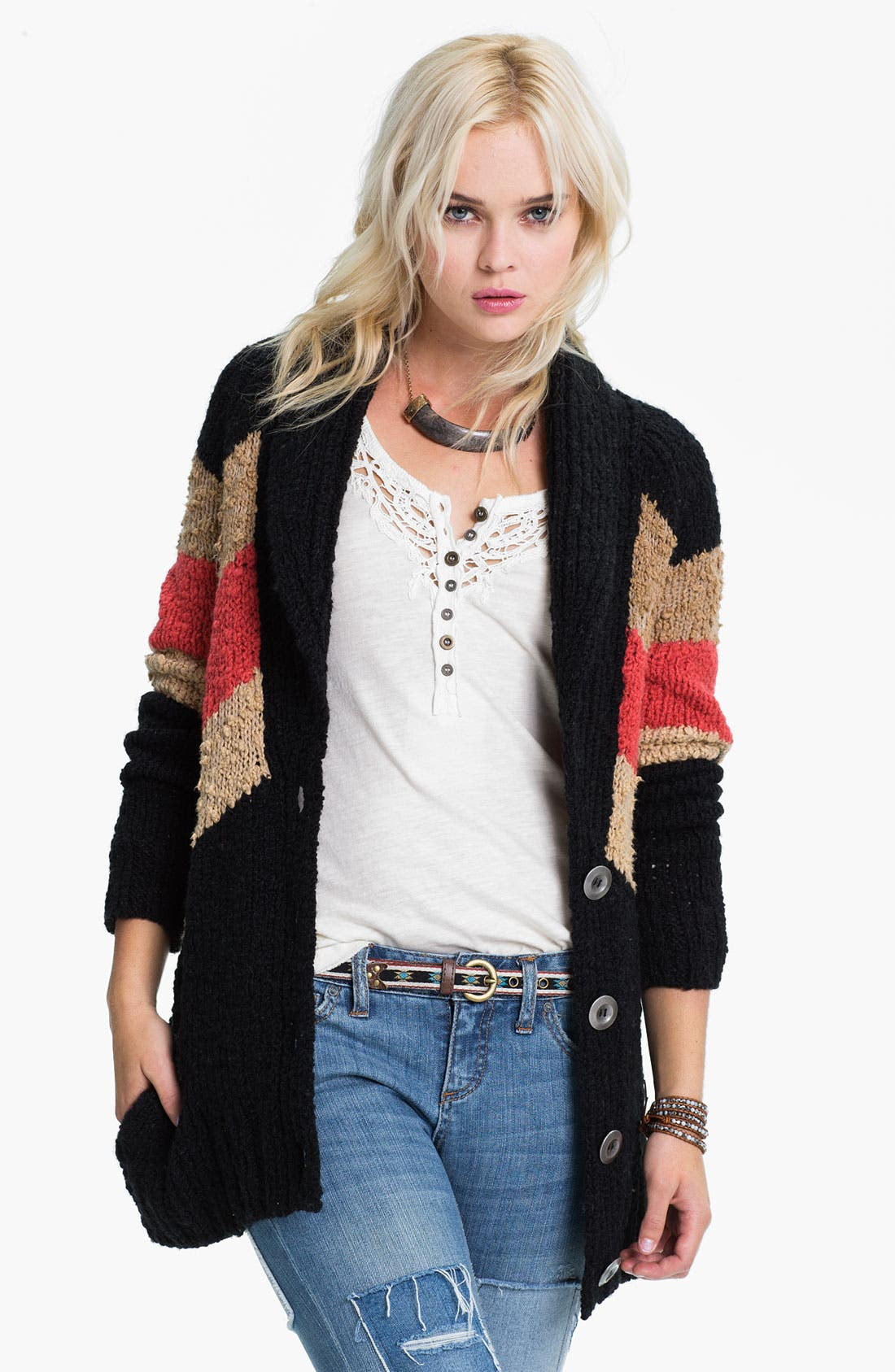 Alternate Image 1 Selected - Free People 'Rocket High' Cardigan
