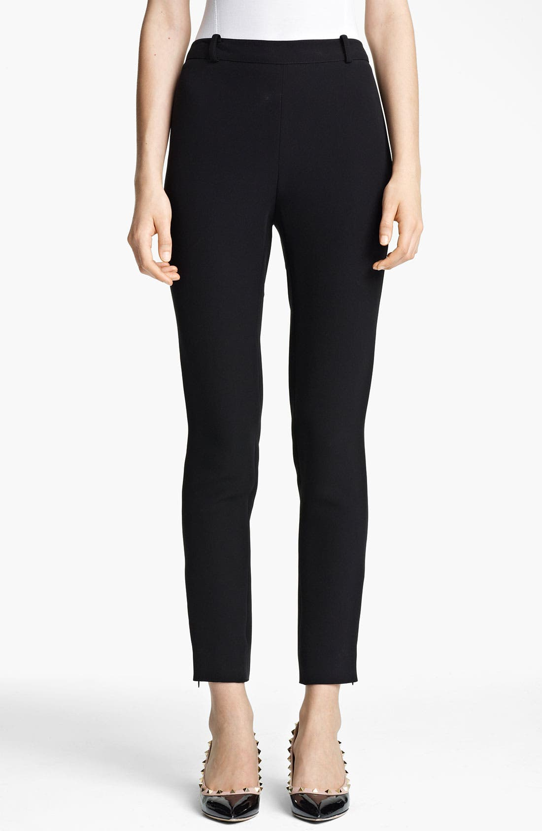 Alternate Image 1 Selected - Valentino Compact Jersey Leggings