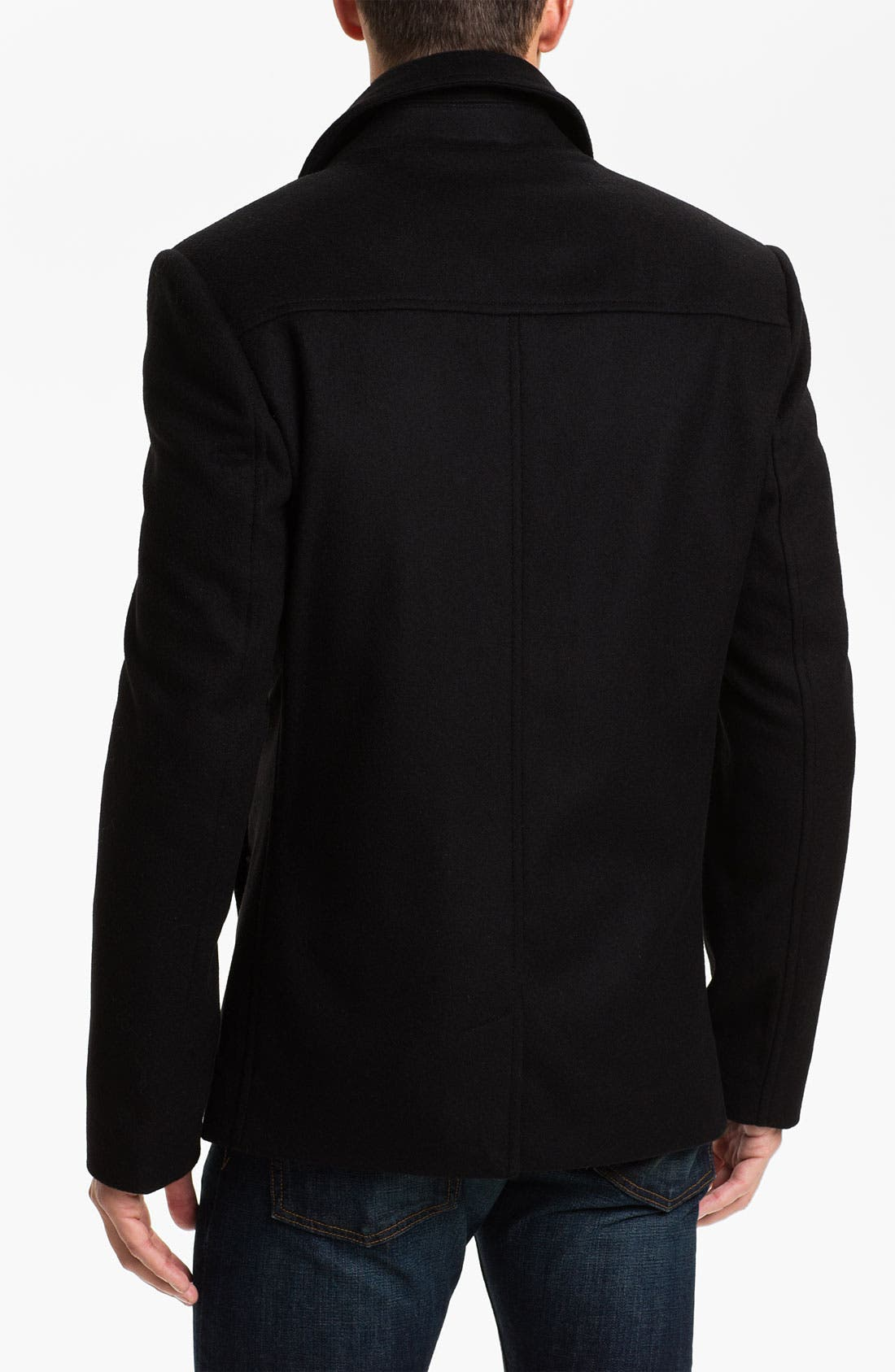 Alternate Image 2  - Ted Baker London 'Outlig' Double Breasted Wool Blend Coat