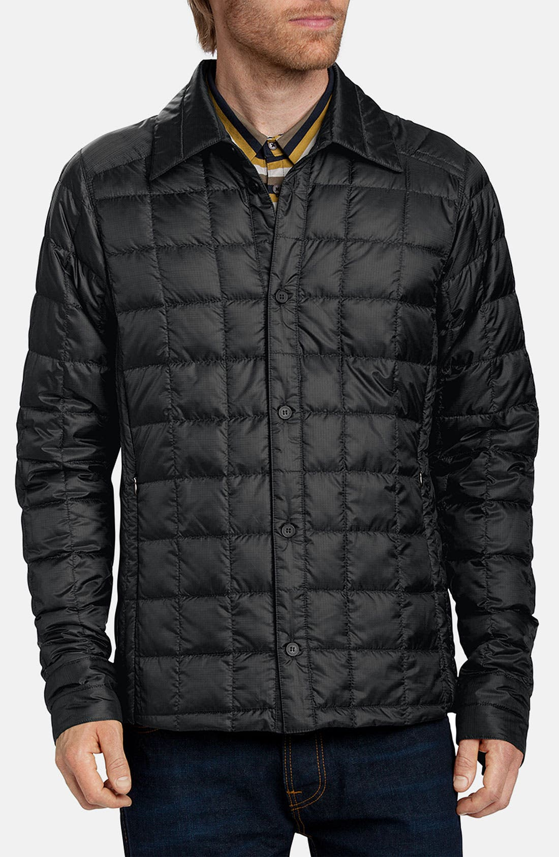 Alternate Image 1 Selected - Nau Quilted Down Shirt Jacket