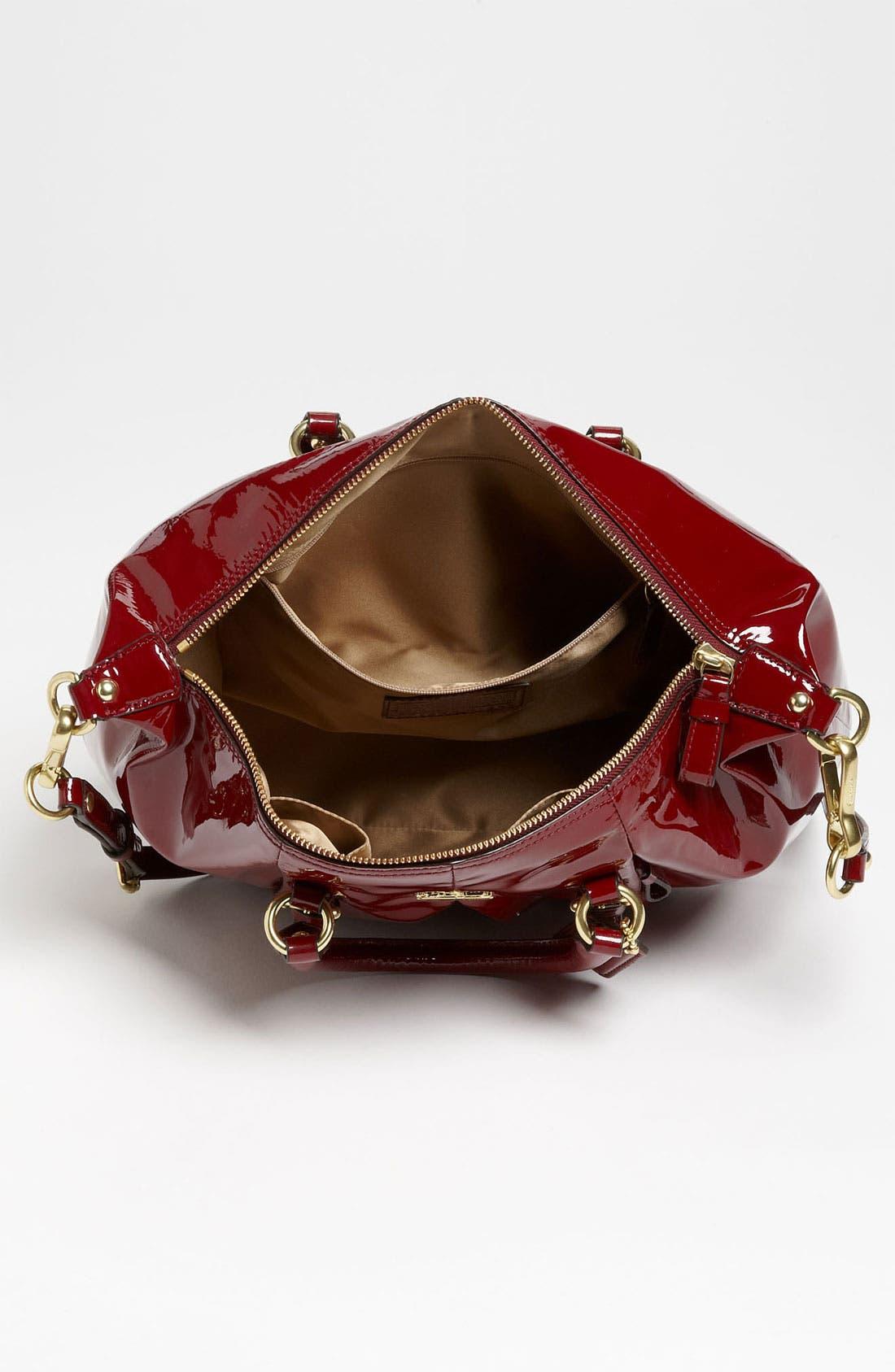 Alternate Image 3  - COACH 'New Madison - Juliette' Patent Leather Satchel