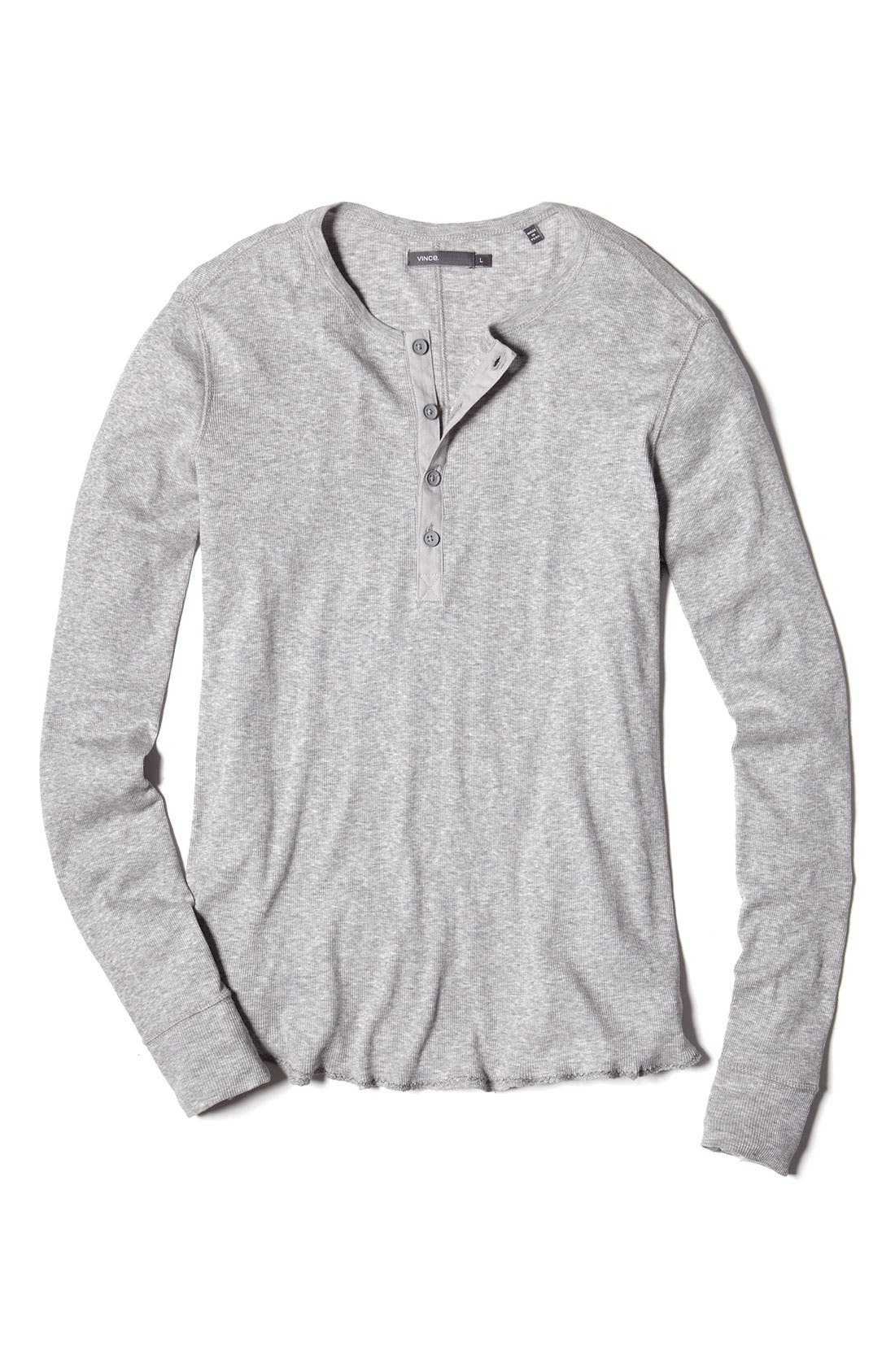 Alternate Image 3  - Vince Wool & Linen Henley Sweater