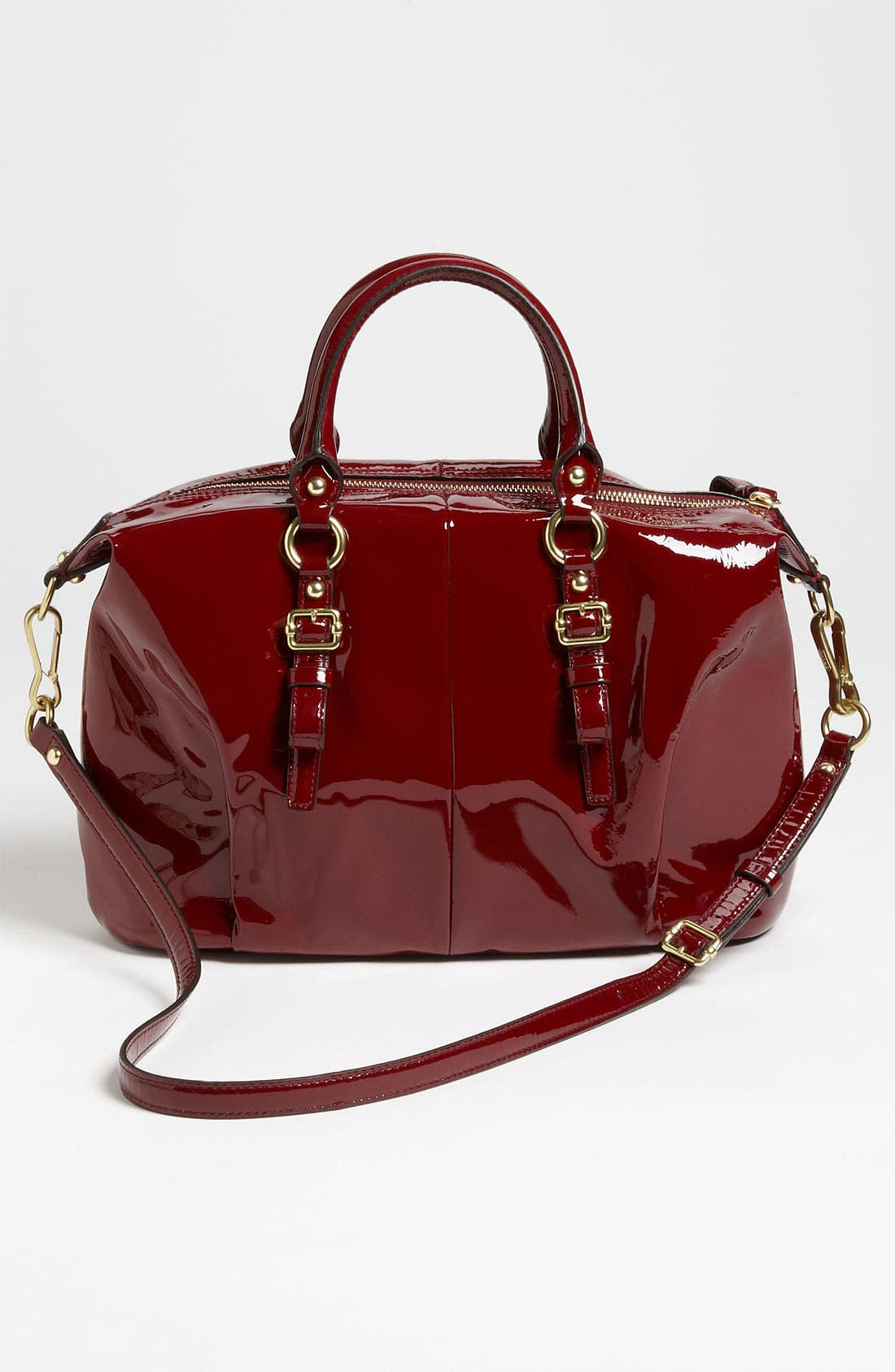 Alternate Image 4  - COACH 'New Madison - Juliette' Patent Leather Satchel