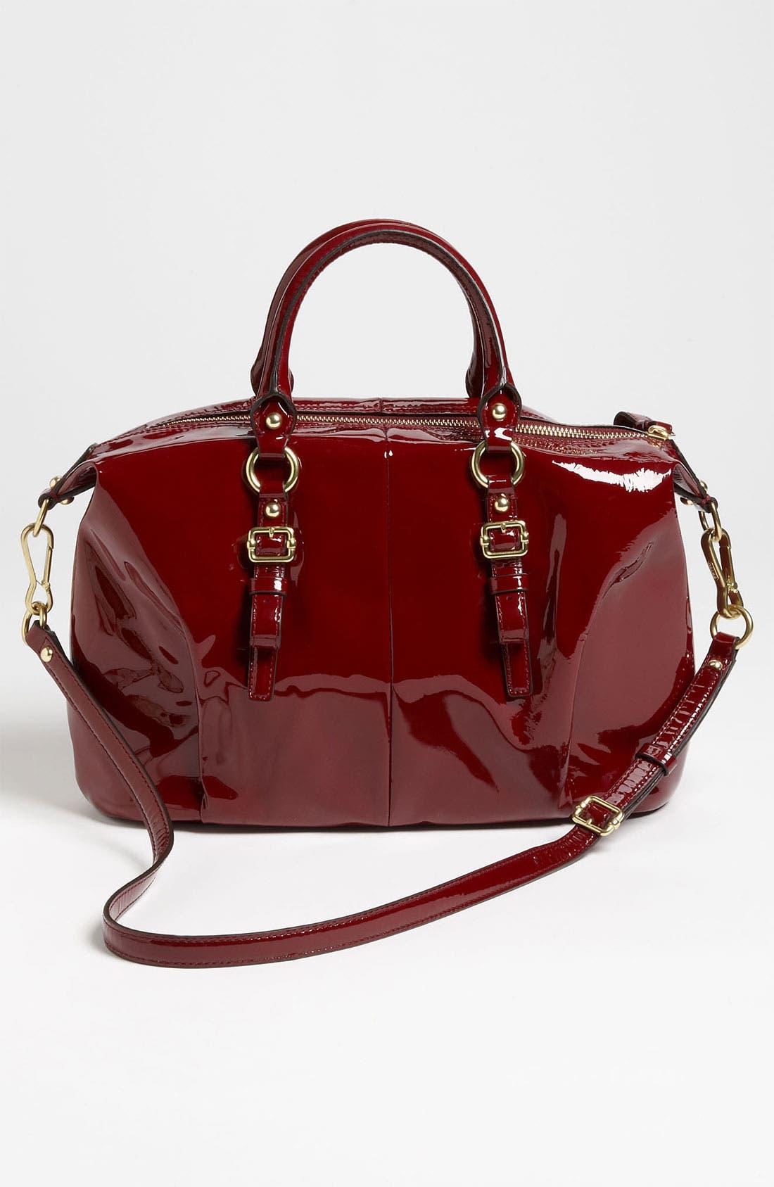 Alternate Image 4  - COACH 'New Madison - Juliette' Patent Leather Satchel