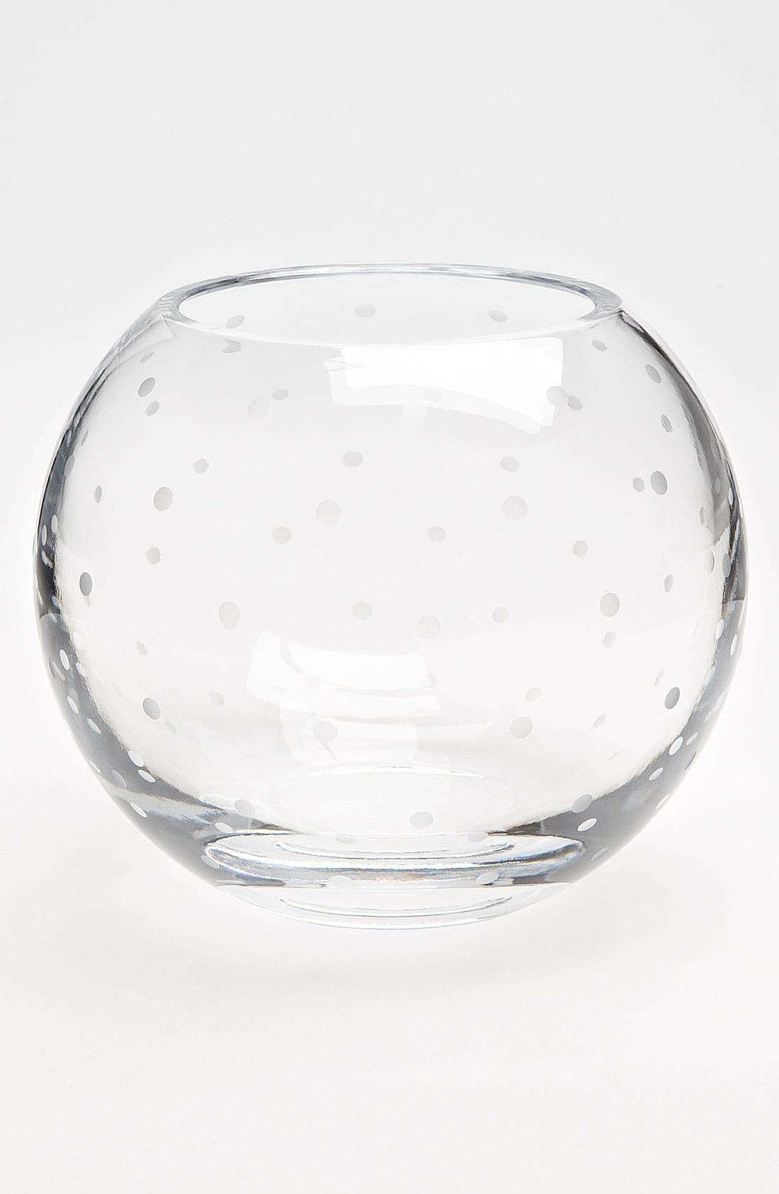 Main Image - kate spade new york 'larabee dot' rose bowl
