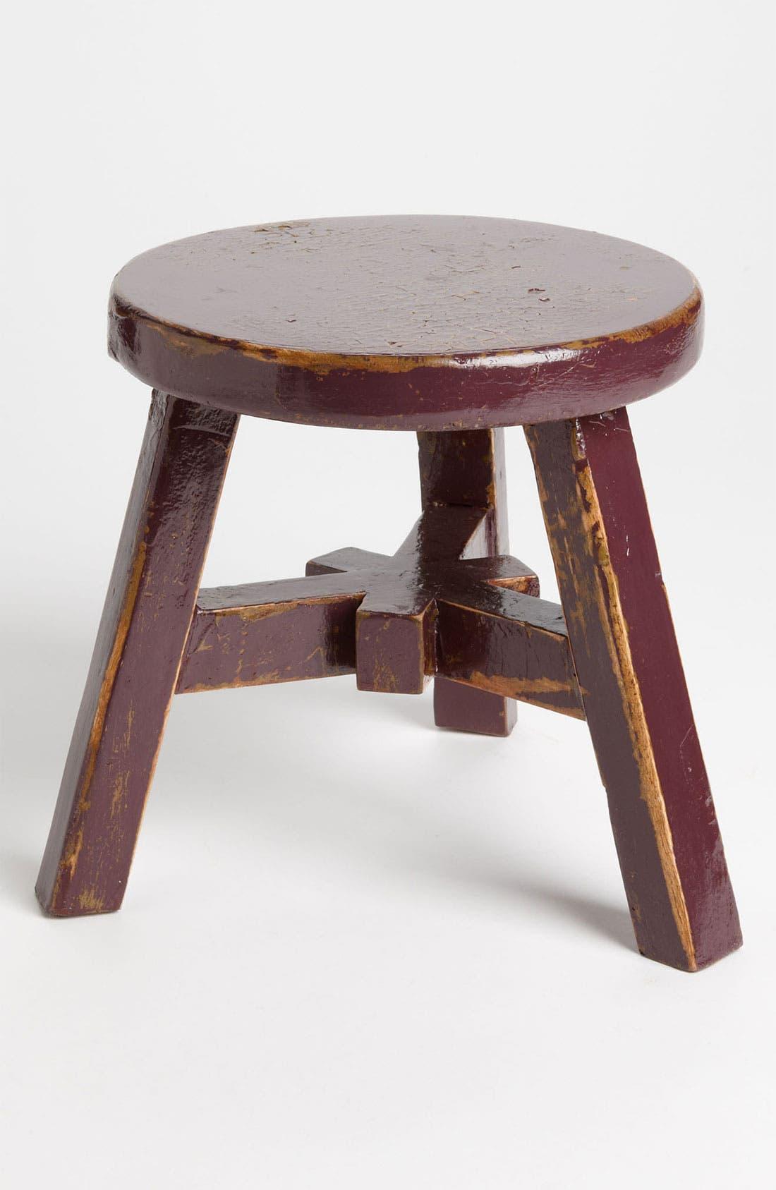 Main Image - Small Decorative Wood Stool