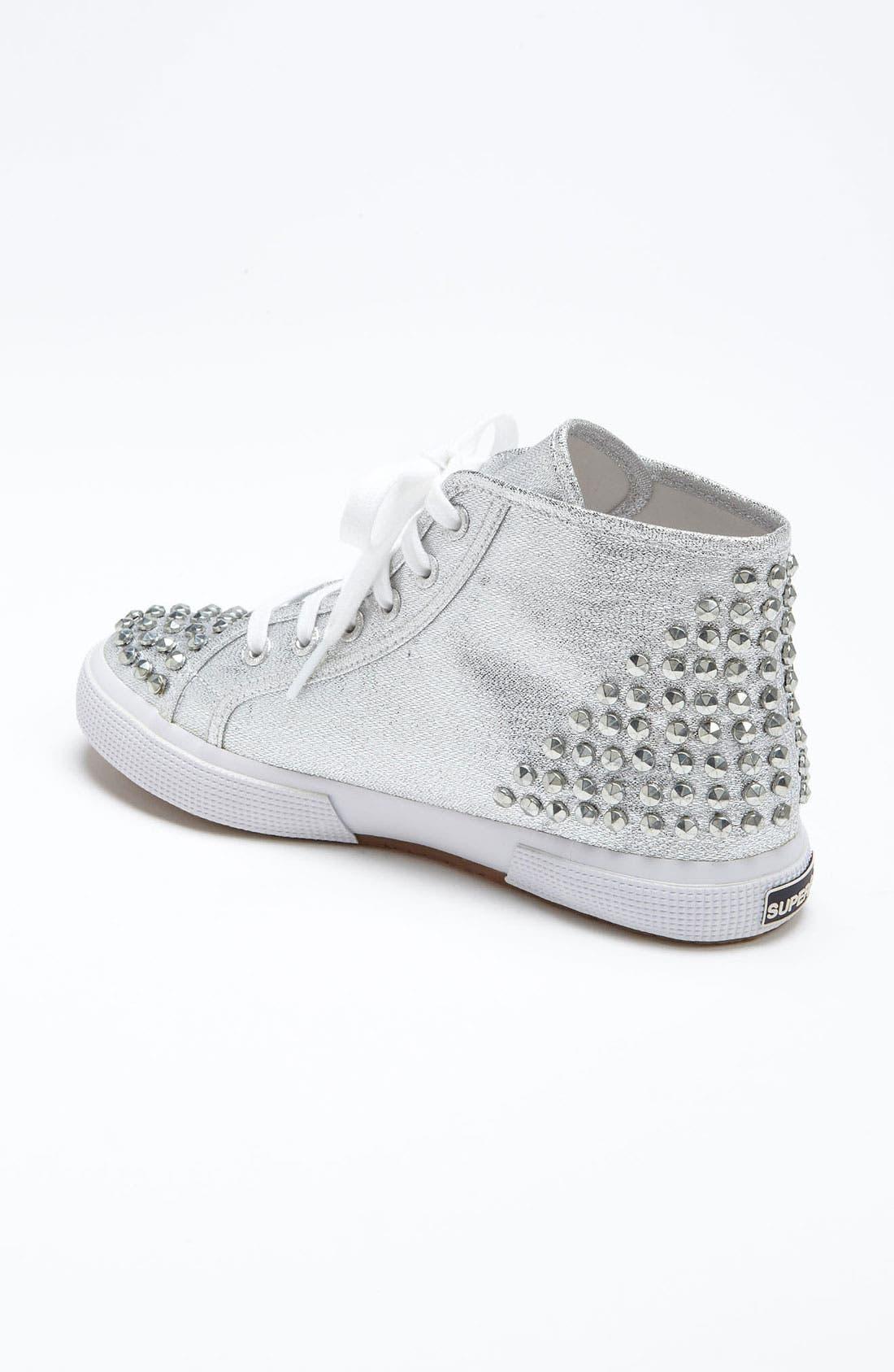 Alternate Image 2  - Superga 'Lamé Studs' Sneaker (Women)