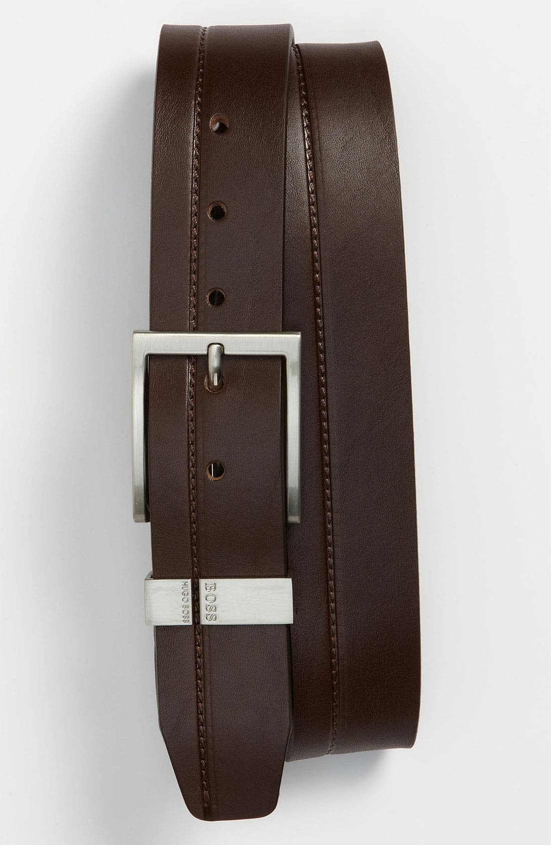 Alternate Image 1 Selected - BOSS Black 'Sanchio' Belt
