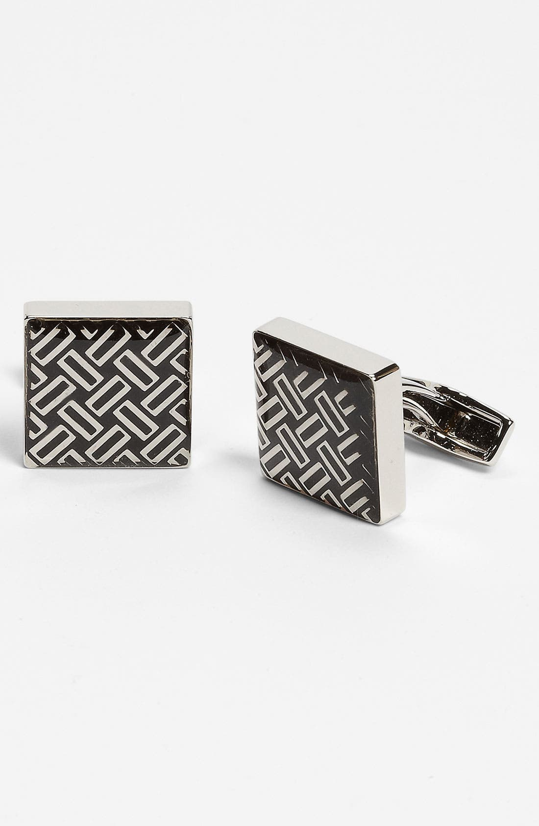 Alternate Image 1 Selected - BOSS Black 'Mathias' Cuff Links