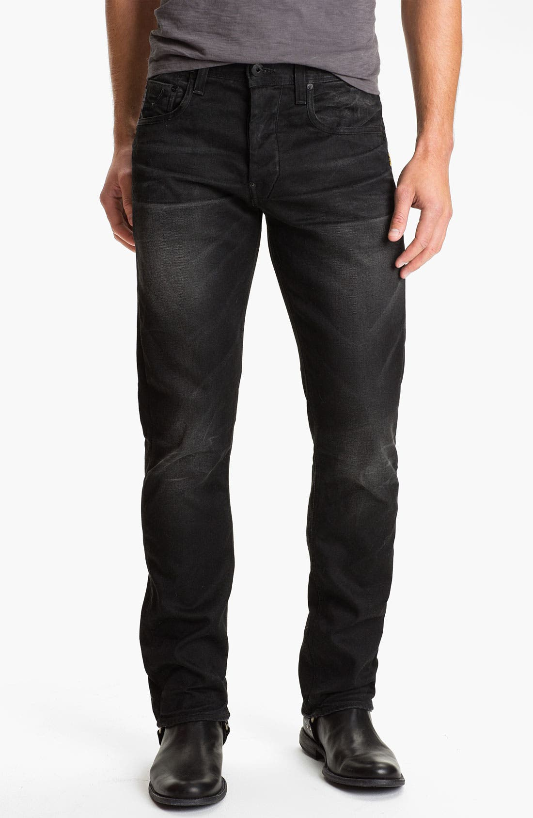 Alternate Image 2  - G-Star Raw 'Attacc' Straight Leg Jeans (Dark Aged)