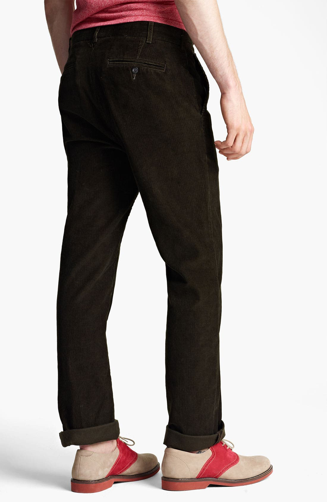 Alternate Image 2  - Jack Spade 'Dolan' Straight Leg Corduroy Pants