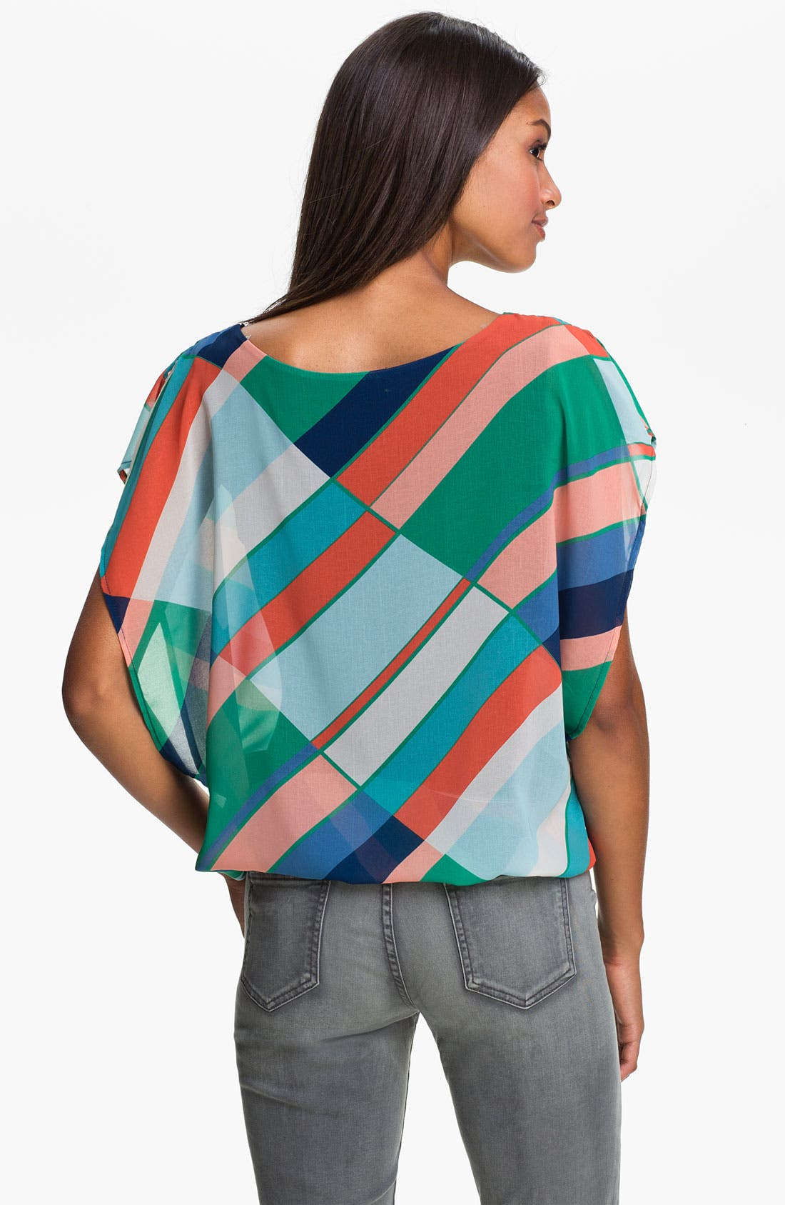 Alternate Image 2  - MOD.lusive Stripe Blouse (Nordstrom Exclusive)