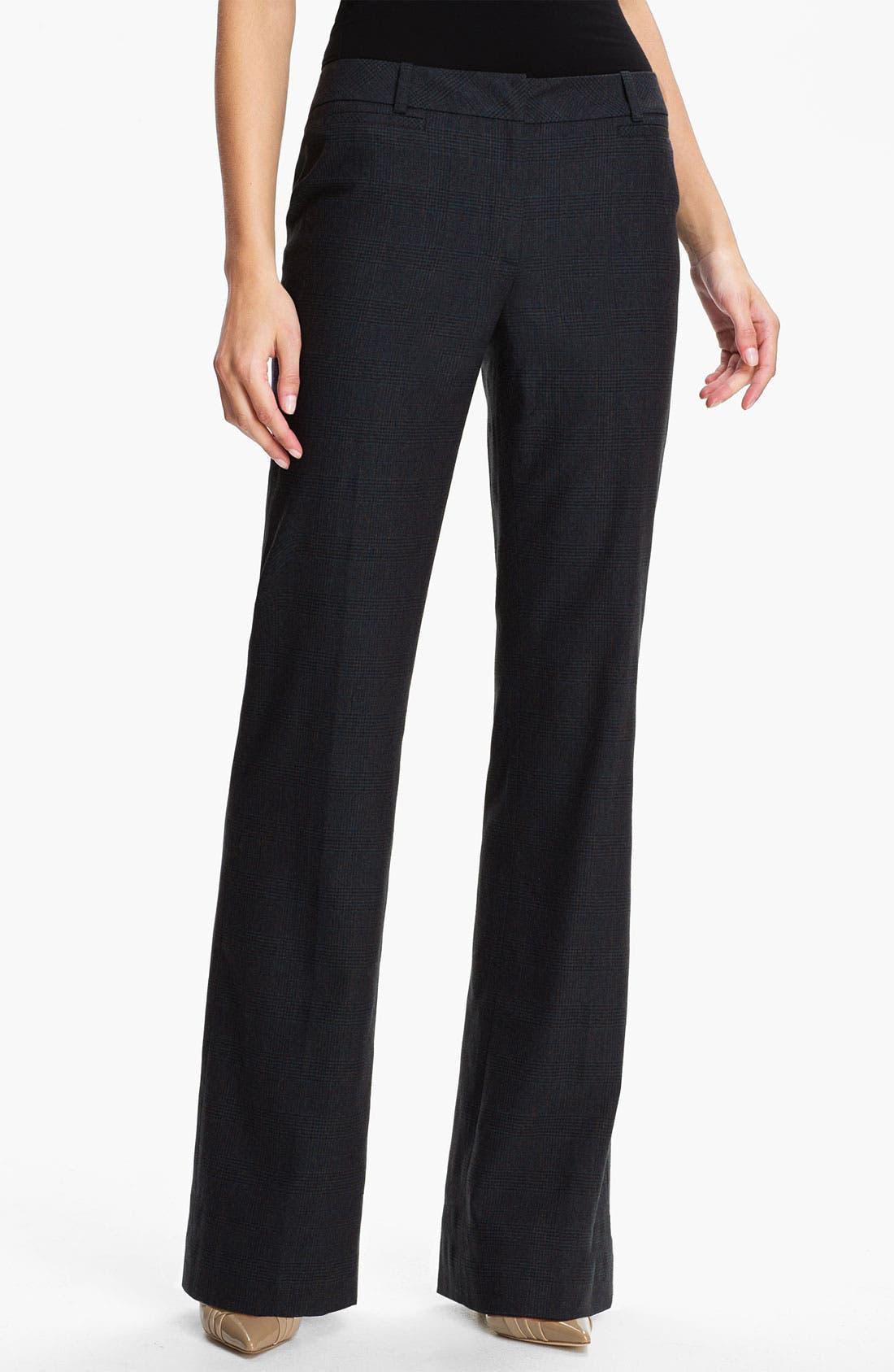 Alternate Image 1 Selected - Classiques Entier® 'Adima Check' Pants