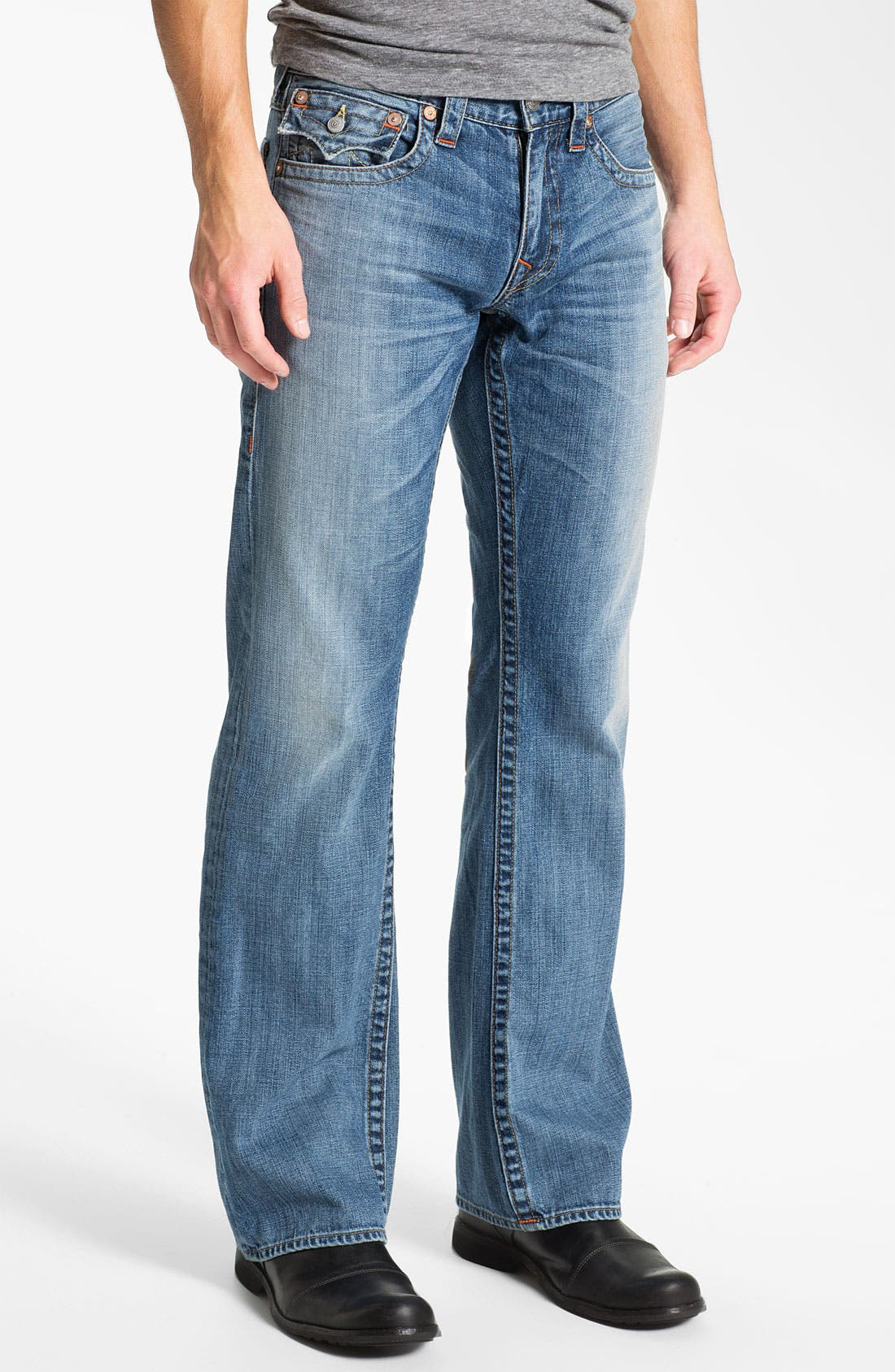 Alternate Image 2  - True Religion Brand Jeans 'Billy' Bootcut Jeans (Vam Shade Horizon)