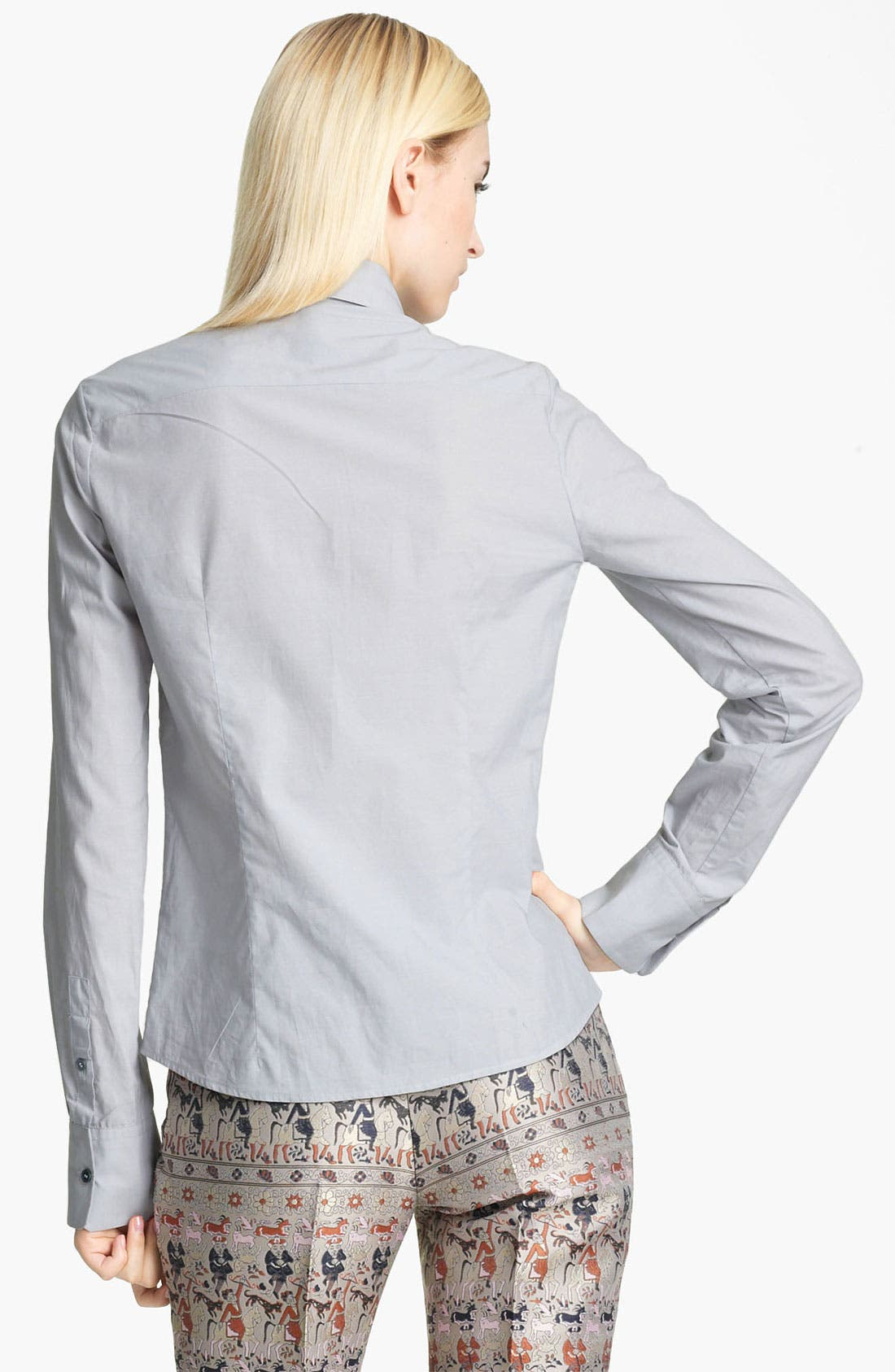 Alternate Image 2  - Jil Sander Navy Contrast Shirt