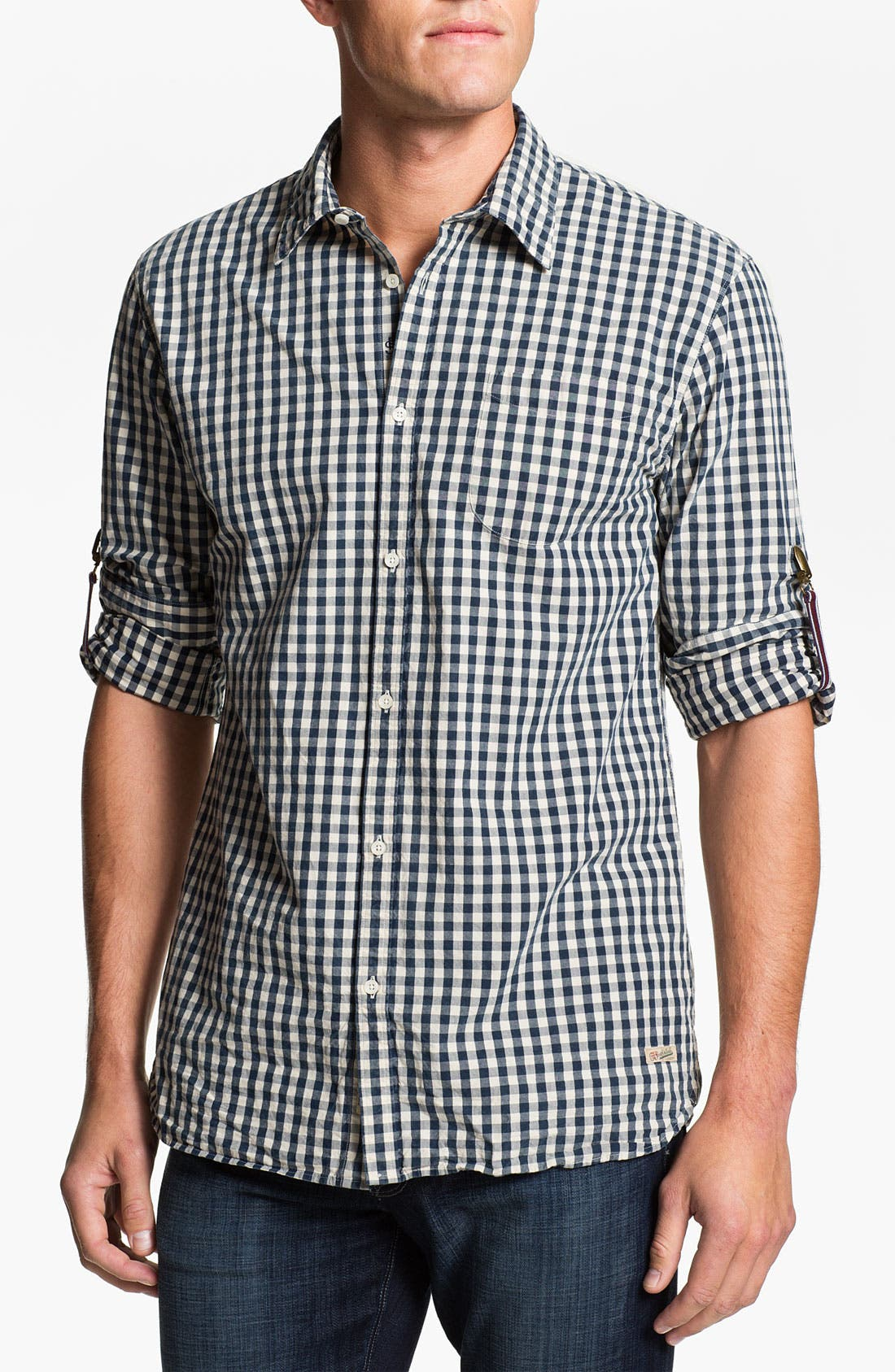 Alternate Image 1 Selected - Scotch & Soda Check Sport Shirt