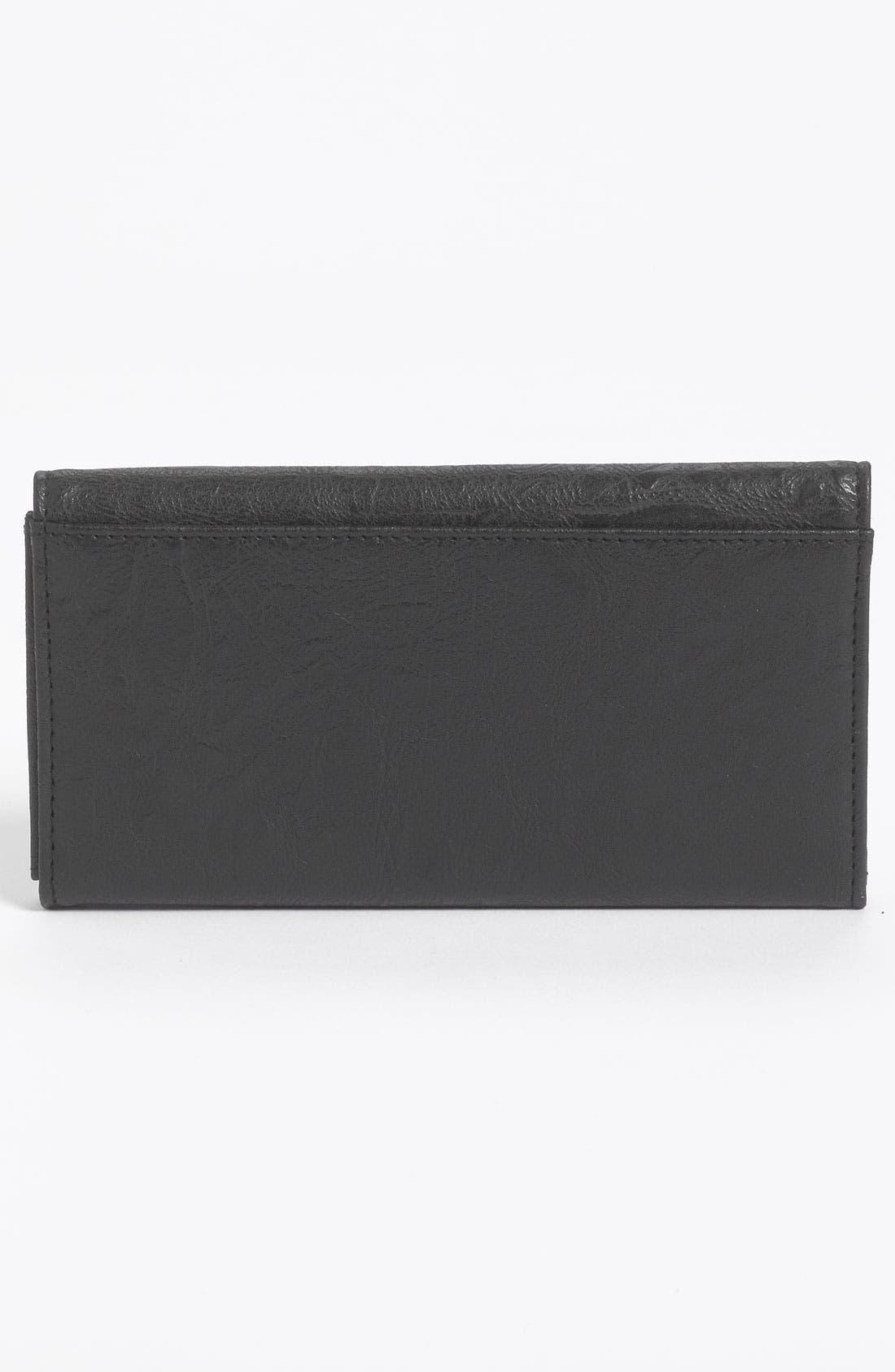 Alternate Image 4  - Lulu Studded Faux Leather Flap Wallet