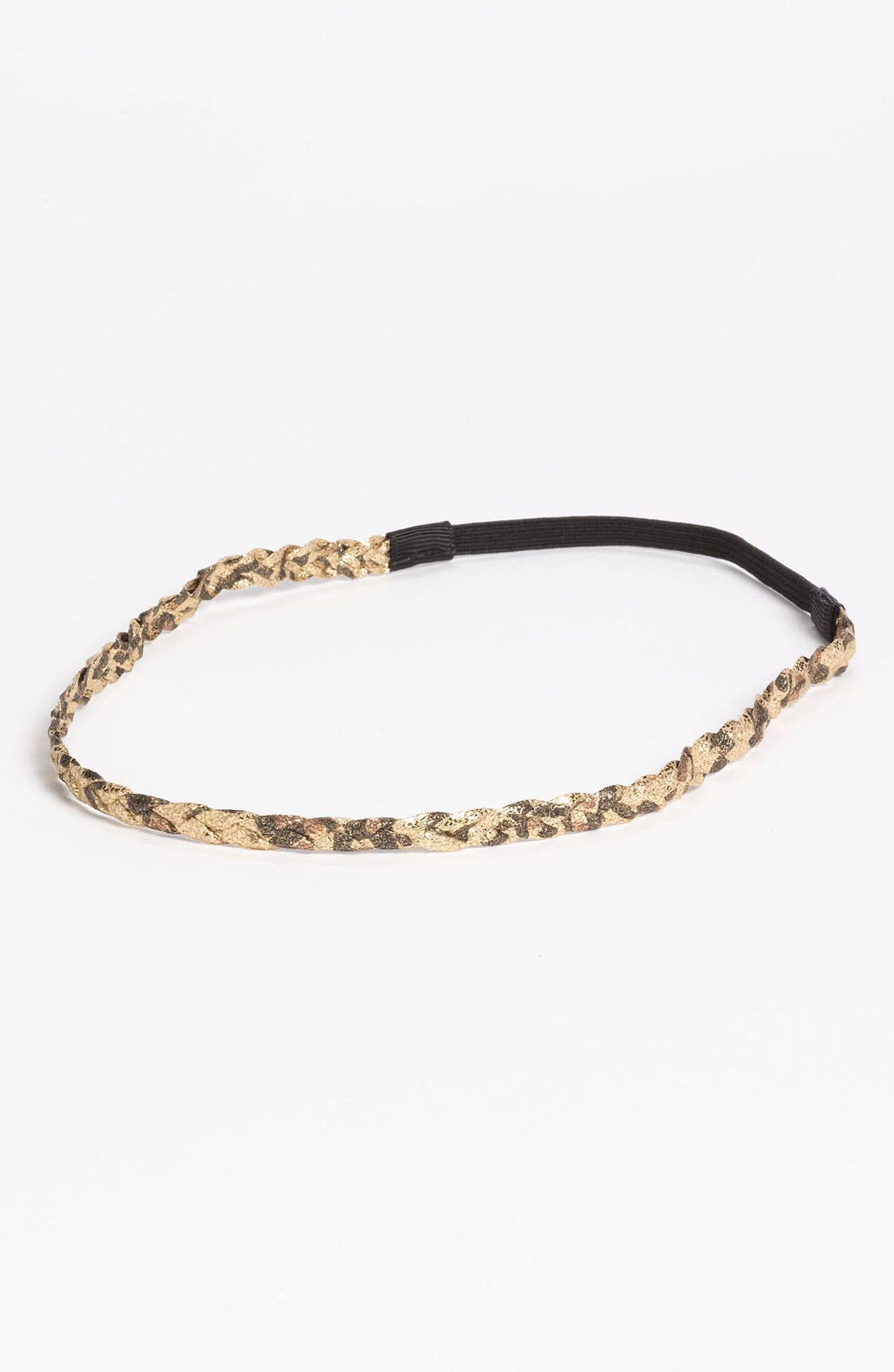 Main Image - Under One Sky Camo Sparkle Braided Headband