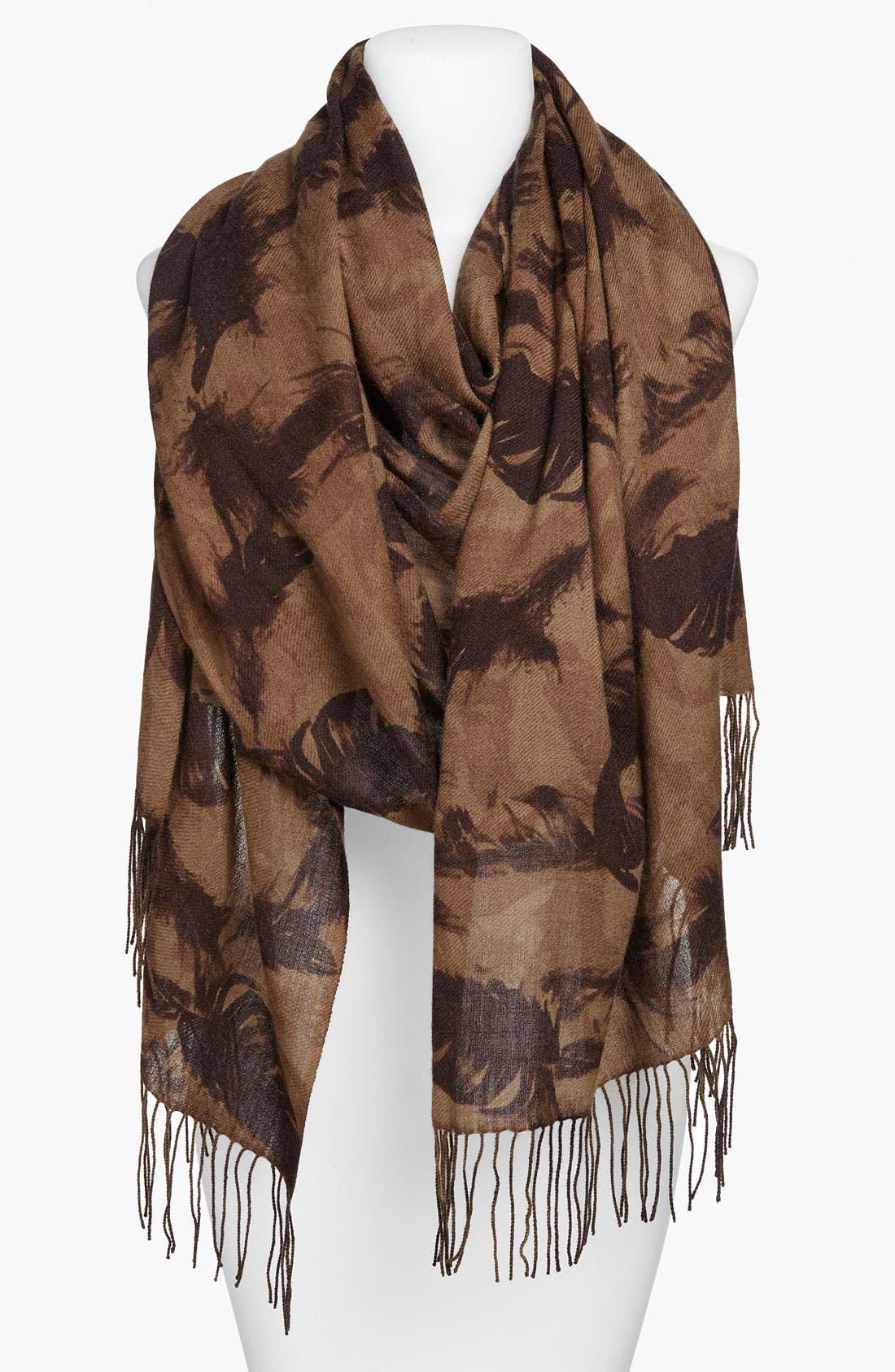 Alternate Image 1 Selected - Nordstrom 'Feather' Wool & Cashmere Wrap