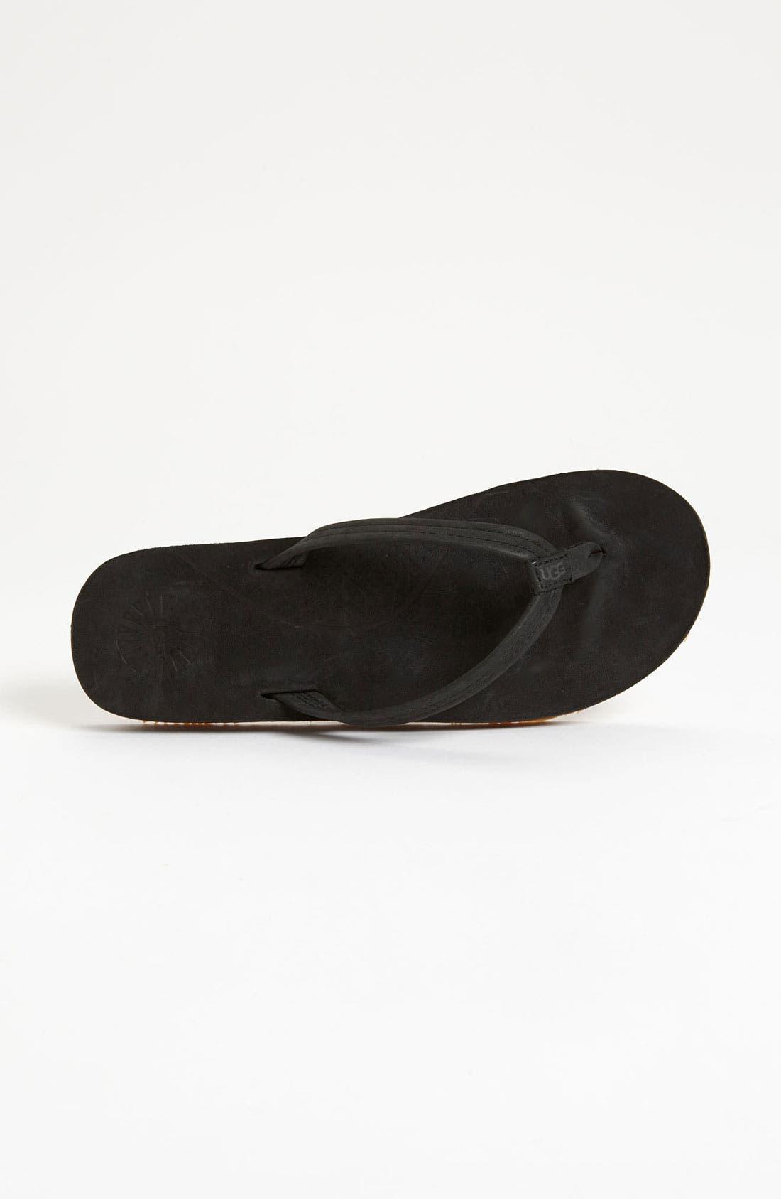 Alternate Image 3  - UGG® 'Kayla' Thong Sandal (Women)