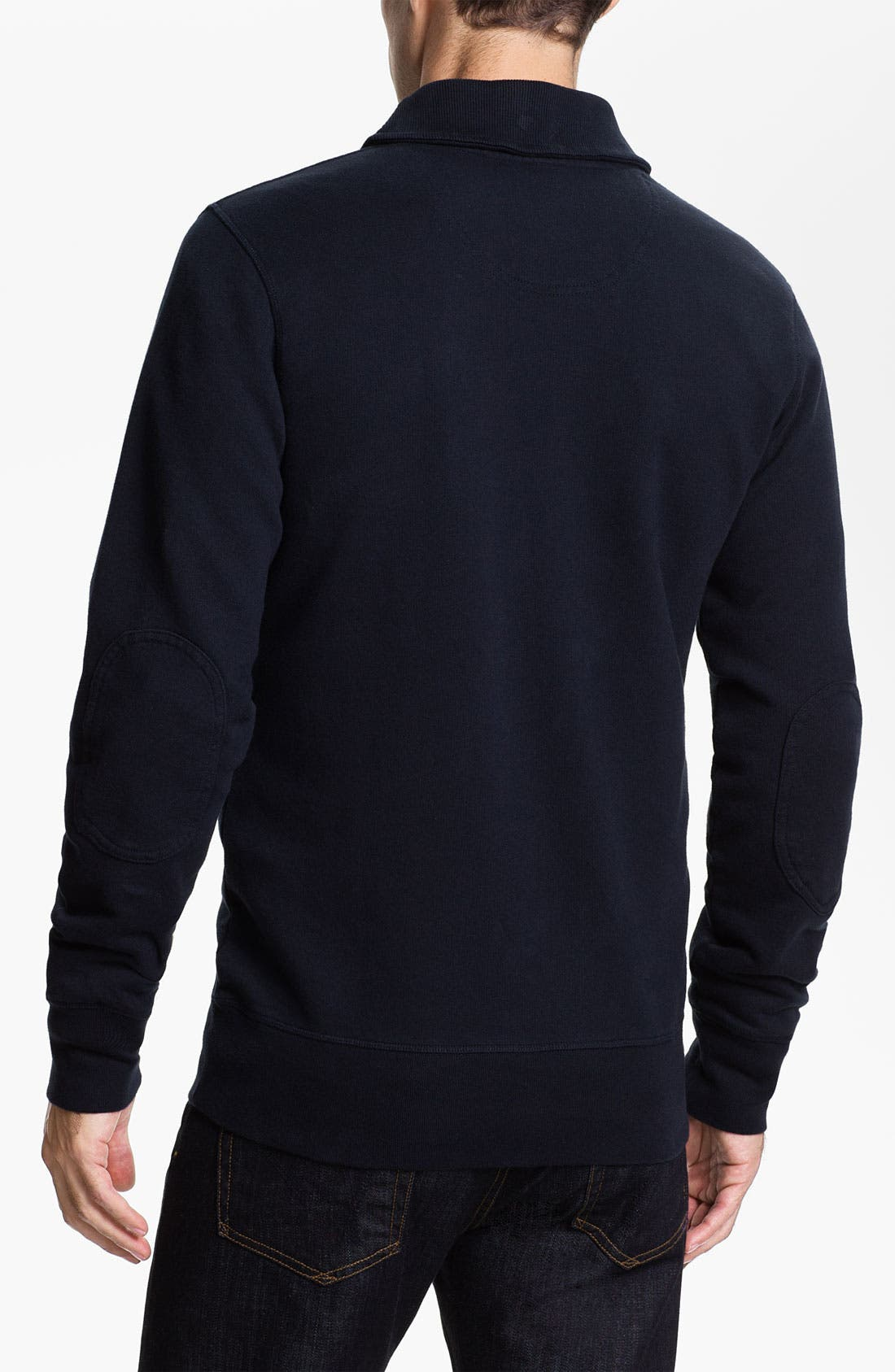 Alternate Image 2  - Fred Perry Shawl Collar Pullover