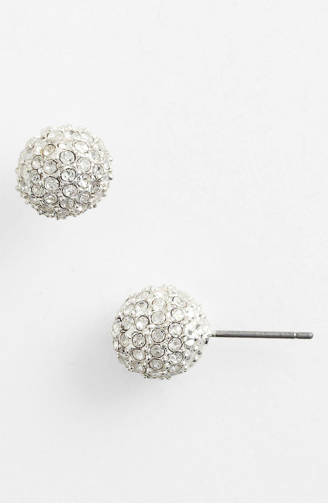 Alternate Image 1 Selected - Anne Klein 'Fireball' Stud Earrings
