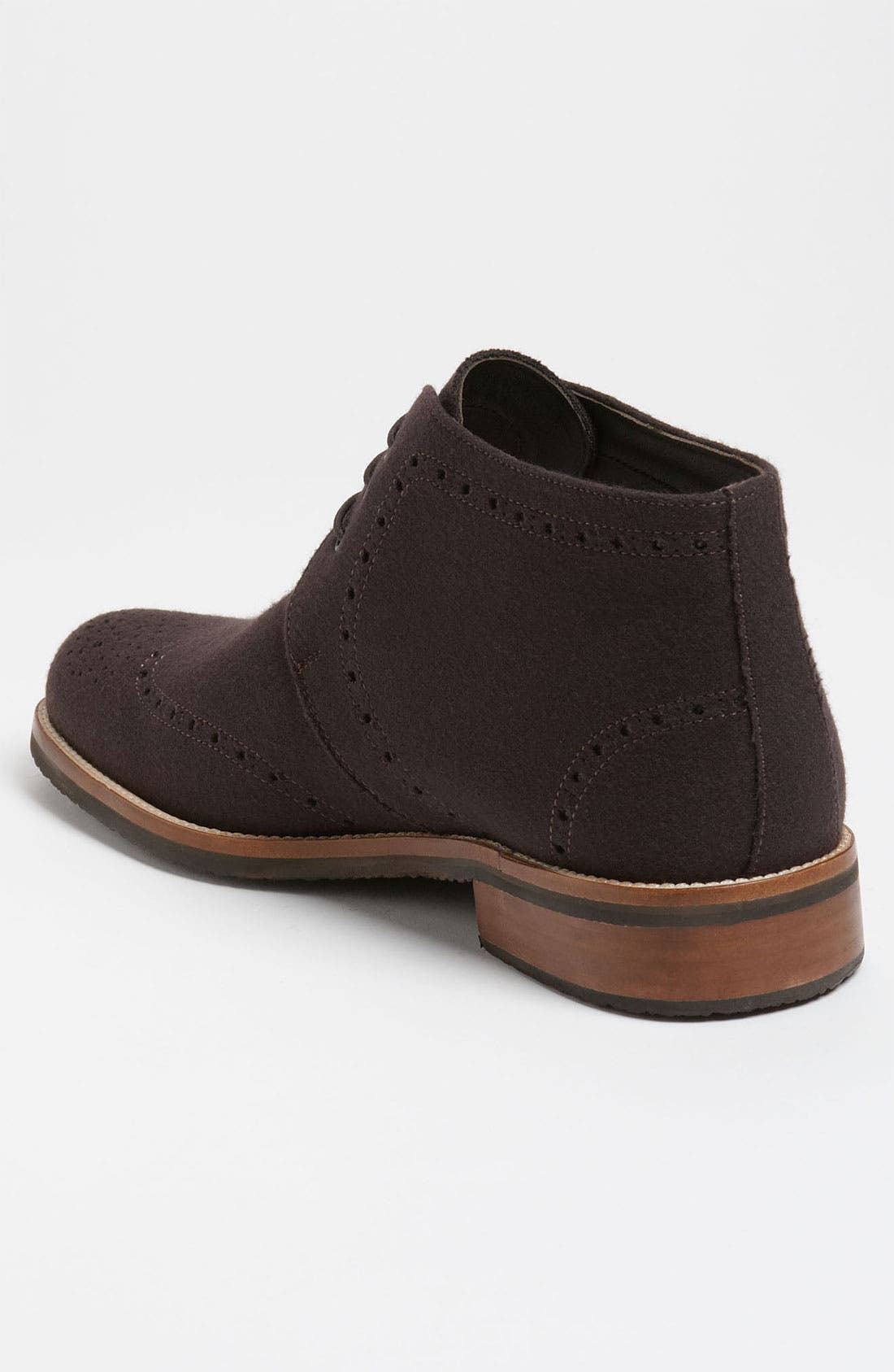 Alternate Image 2  - Thomas Dean Wool Wingtip Chukka Boot