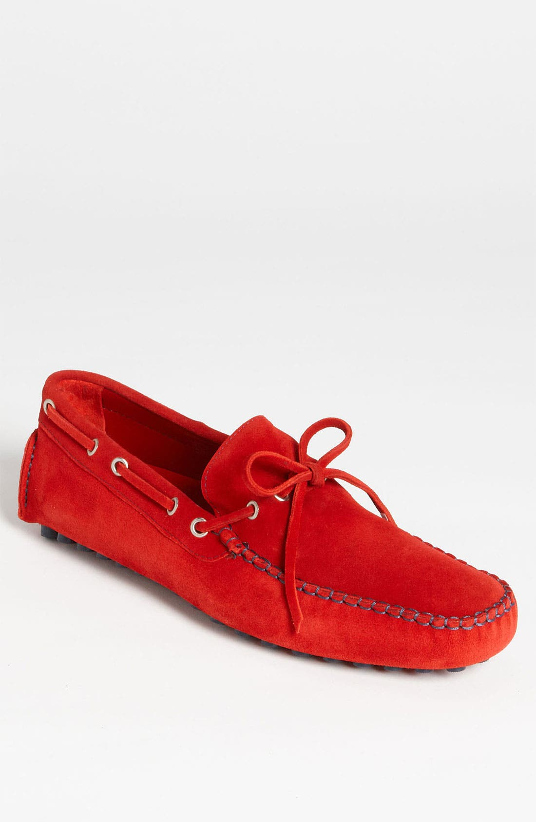 Main Image - Thomas Dean Suede Driving Shoe